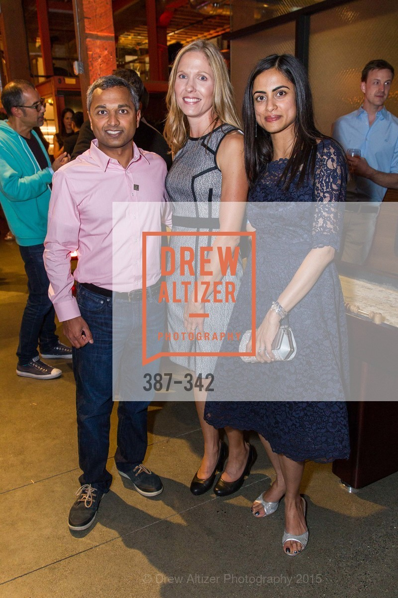 Anand Swaminathan, Laura Swaminathan, Dhivya Suryadevara, Fortune's 40 Under 40 Party, GitHub HQ. 88 Colin P Kelly Jr St, October 7th, 2015,Drew Altizer, Drew Altizer Photography, full-service agency, private events, San Francisco photographer, photographer california