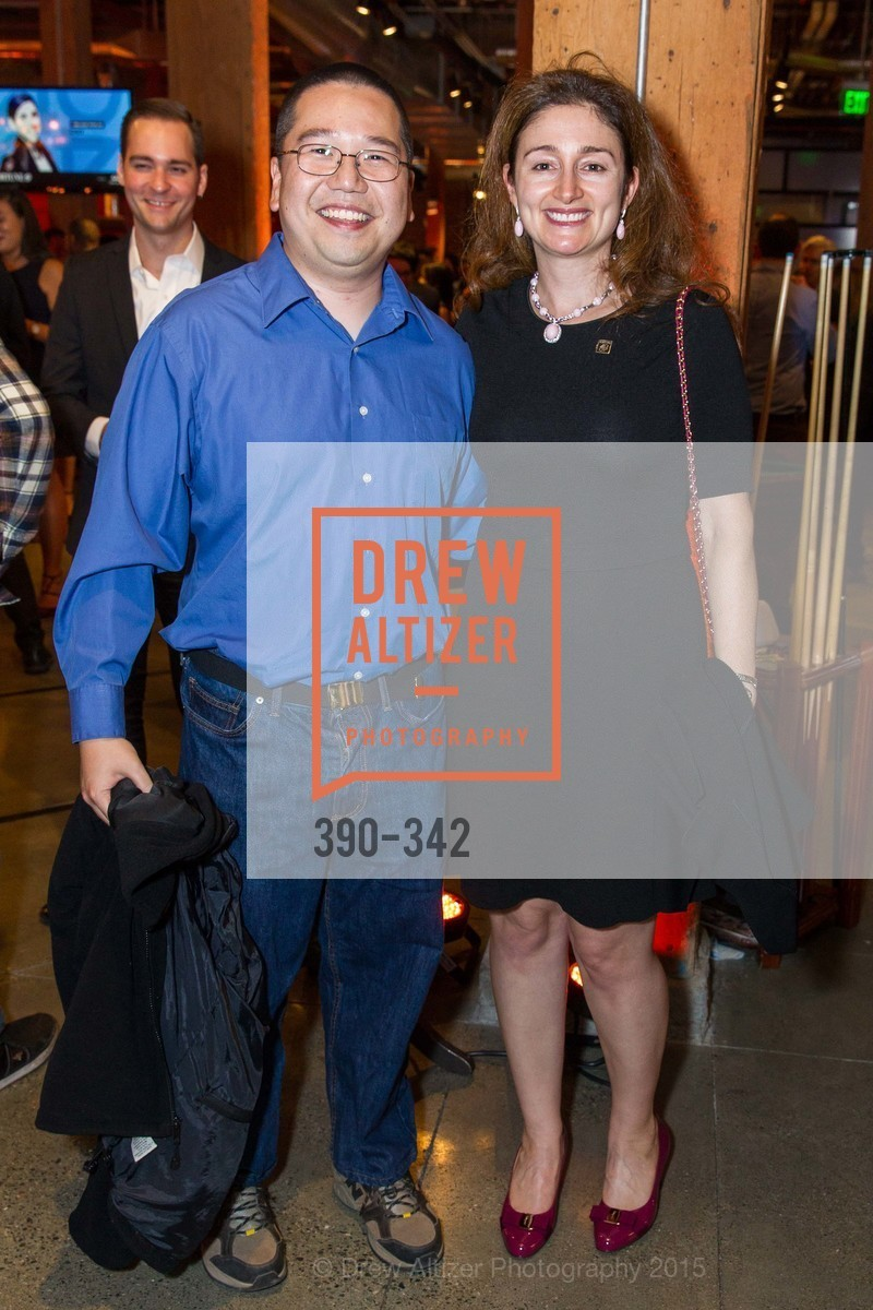 Mendel Chuang, Catherine Lacavera, Fortune's 40 Under 40 Party, GitHub HQ. 88 Colin P Kelly Jr St, October 7th, 2015,Drew Altizer, Drew Altizer Photography, full-service agency, private events, San Francisco photographer, photographer california