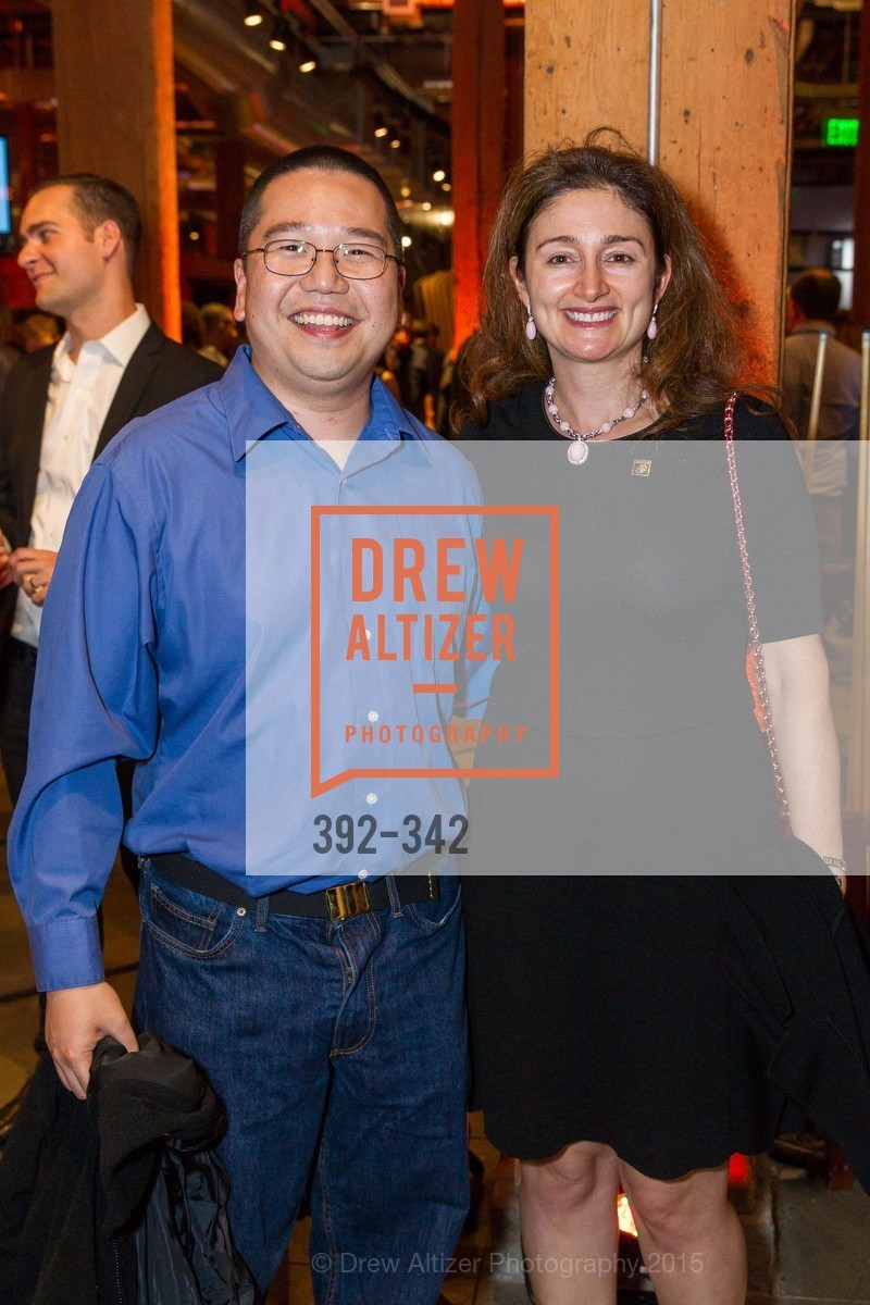 Mendel Chuang, Catherine Lacavera, Fortune's 40 Under 40 Party, GitHub HQ. 88 Colin P Kelly Jr St, October 7th, 2015,Drew Altizer, Drew Altizer Photography, full-service event agency, private events, San Francisco photographer, photographer California