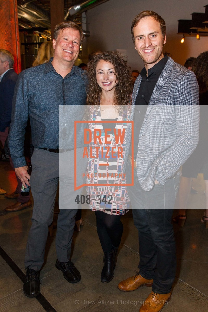 Matt Rosoff, Debbie Sterling, Beau Lewis, Fortune's 40 Under 40 Party, GitHub HQ. 88 Colin P Kelly Jr St, October 7th, 2015,Drew Altizer, Drew Altizer Photography, full-service agency, private events, San Francisco photographer, photographer california