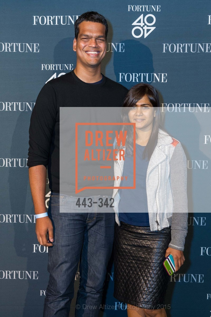 Sriram Krishnan, Aarthi Ramamurthy, Fortune's 40 Under 40 Party, GitHub HQ. 88 Colin P Kelly Jr St, October 7th, 2015,Drew Altizer, Drew Altizer Photography, full-service agency, private events, San Francisco photographer, photographer california