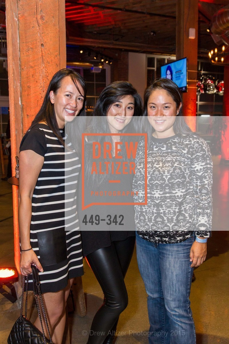 Sheila Tran, Jess Lee, Christina Lee, Fortune's 40 Under 40 Party, GitHub HQ. 88 Colin P Kelly Jr St, October 7th, 2015,Drew Altizer, Drew Altizer Photography, full-service agency, private events, San Francisco photographer, photographer california