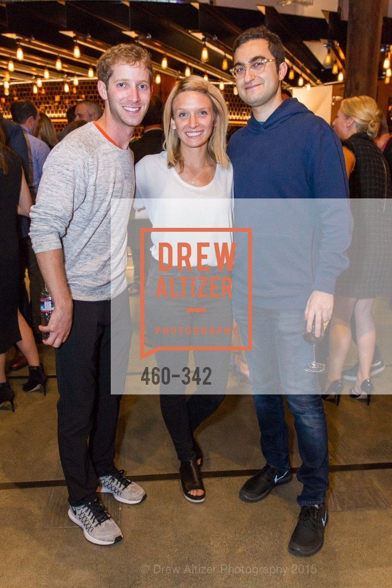 Cory Levy, Hilary Dykes, Darian Shirazi, Fortune's 40 Under 40 Party, GitHub HQ. 88 Colin P Kelly Jr St, October 7th, 2015,Drew Altizer, Drew Altizer Photography, full-service agency, private events, San Francisco photographer, photographer california