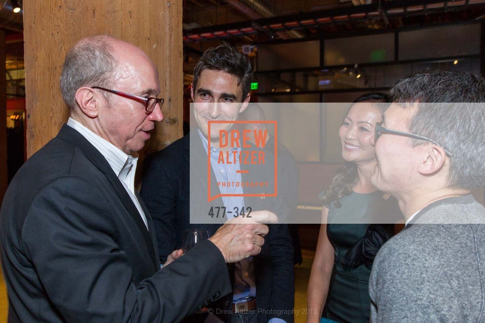 Alan Murray, Trevor Nelson, Karen Fang, James Park, Photo #477-342
