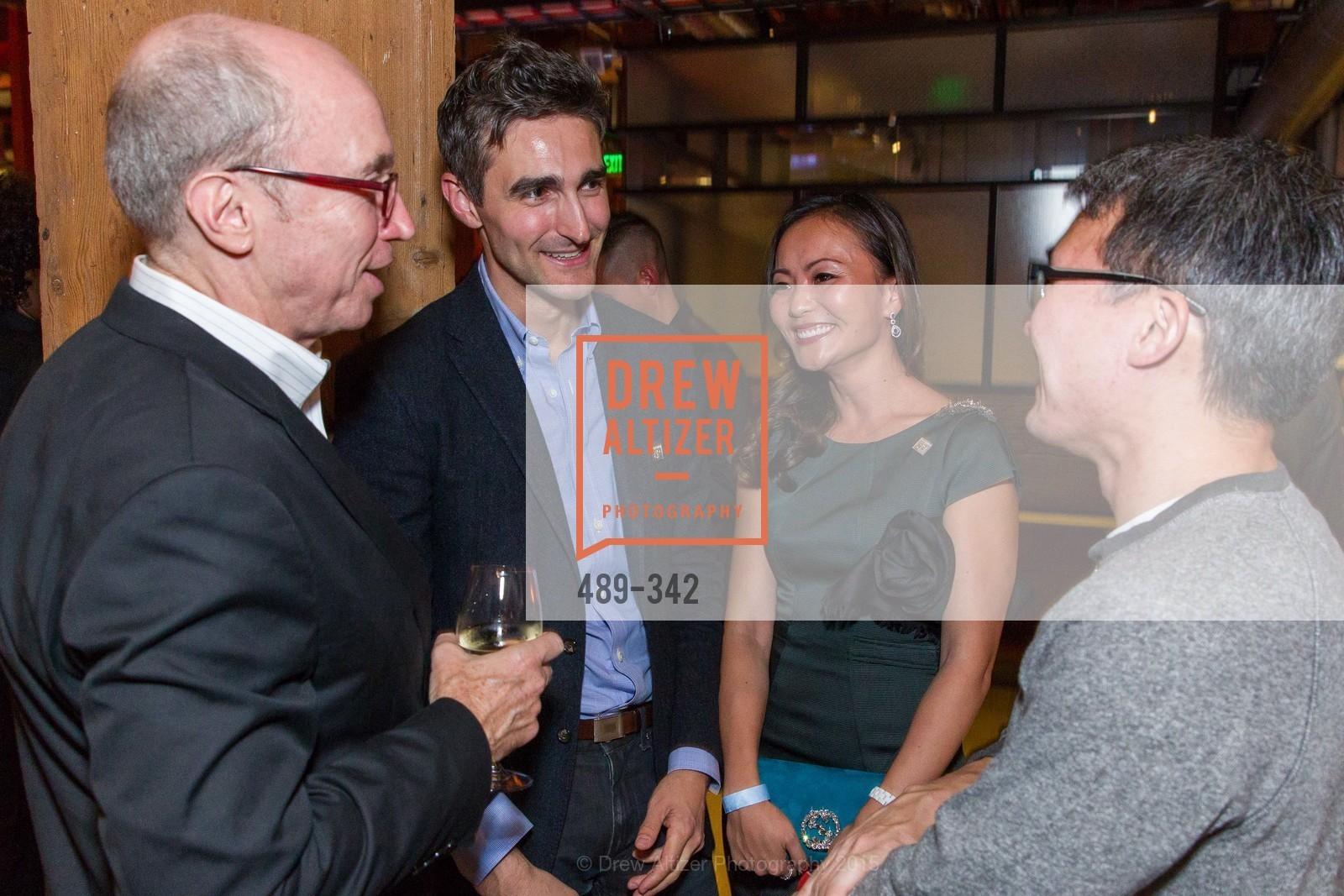 Alan Murray, Trevor Nelson, Karen Fang, James Park, Photo #489-342