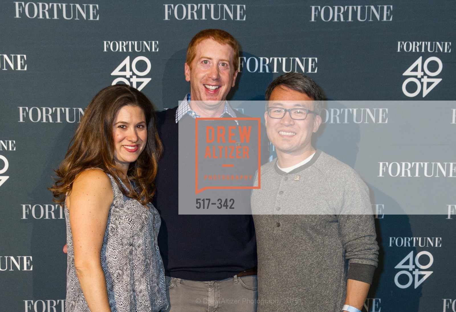 Erica Myers, Chuck Myers, James Park, Fortune's 40 Under 40 Party, GitHub HQ. 88 Colin P Kelly Jr St, October 7th, 2015