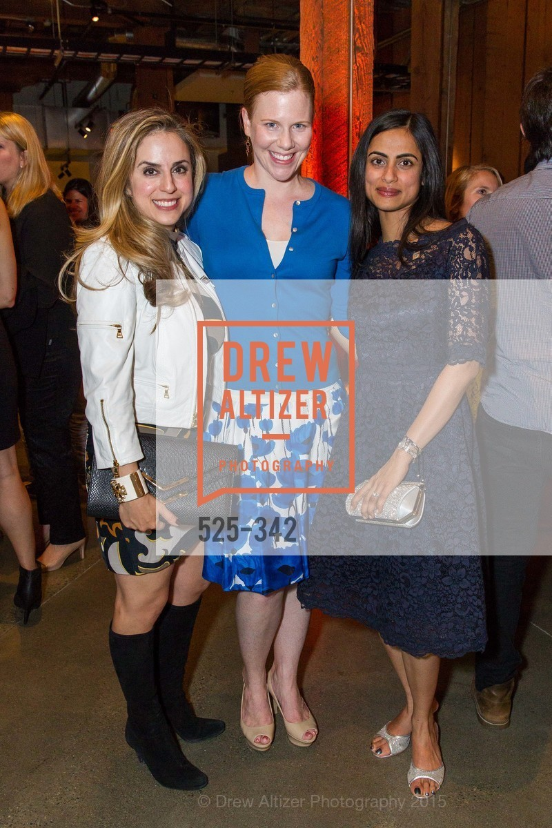 Michelle Dipp, Kristen Rubi, Dhivya Suryadevara, Fortune's 40 Under 40 Party, GitHub HQ. 88 Colin P Kelly Jr St, October 7th, 2015