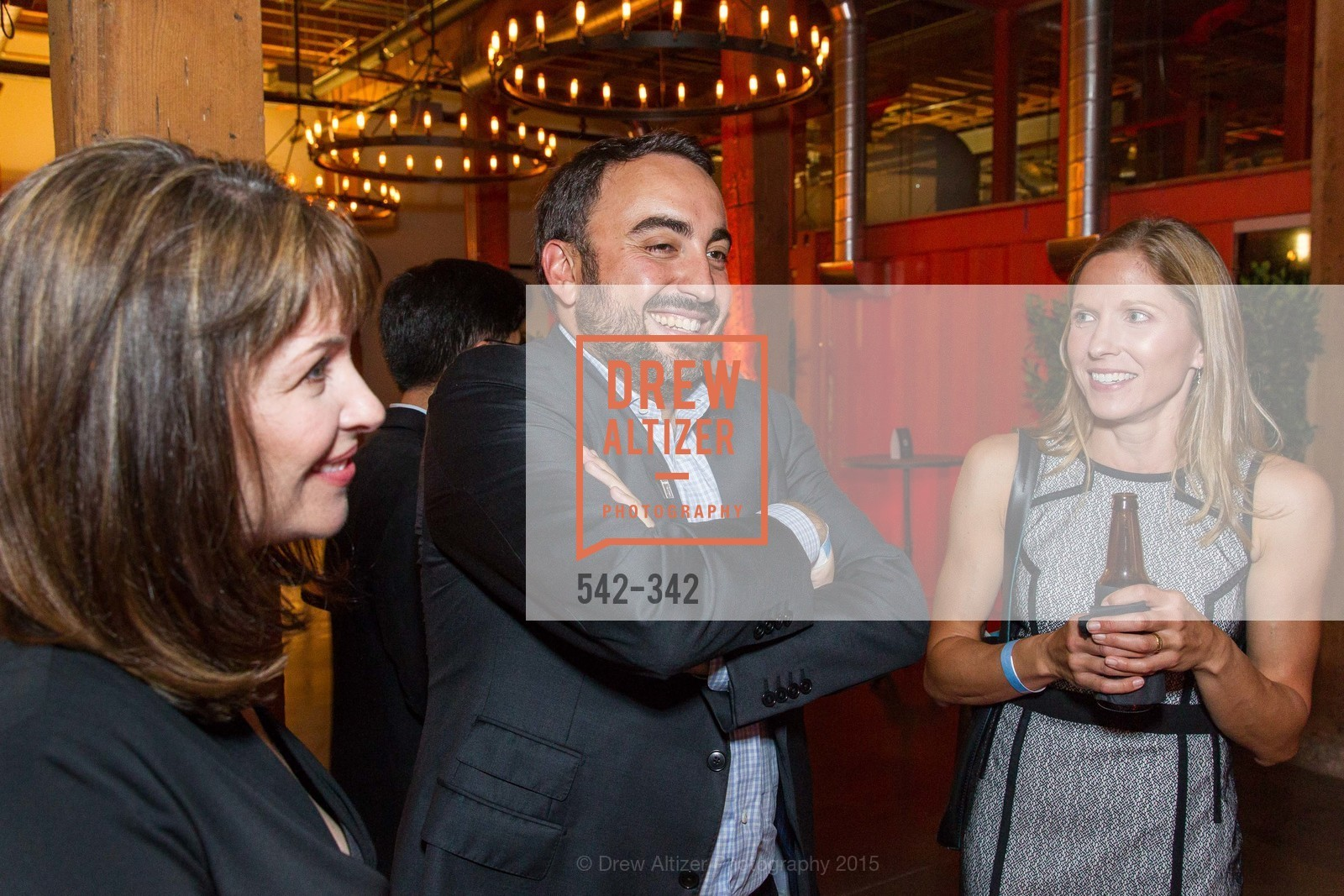 Alex Stamos, Laura Swaminathan, Fortune's 40 Under 40 Party, GitHub HQ. 88 Colin P Kelly Jr St, October 7th, 2015,Drew Altizer, Drew Altizer Photography, full-service agency, private events, San Francisco photographer, photographer california