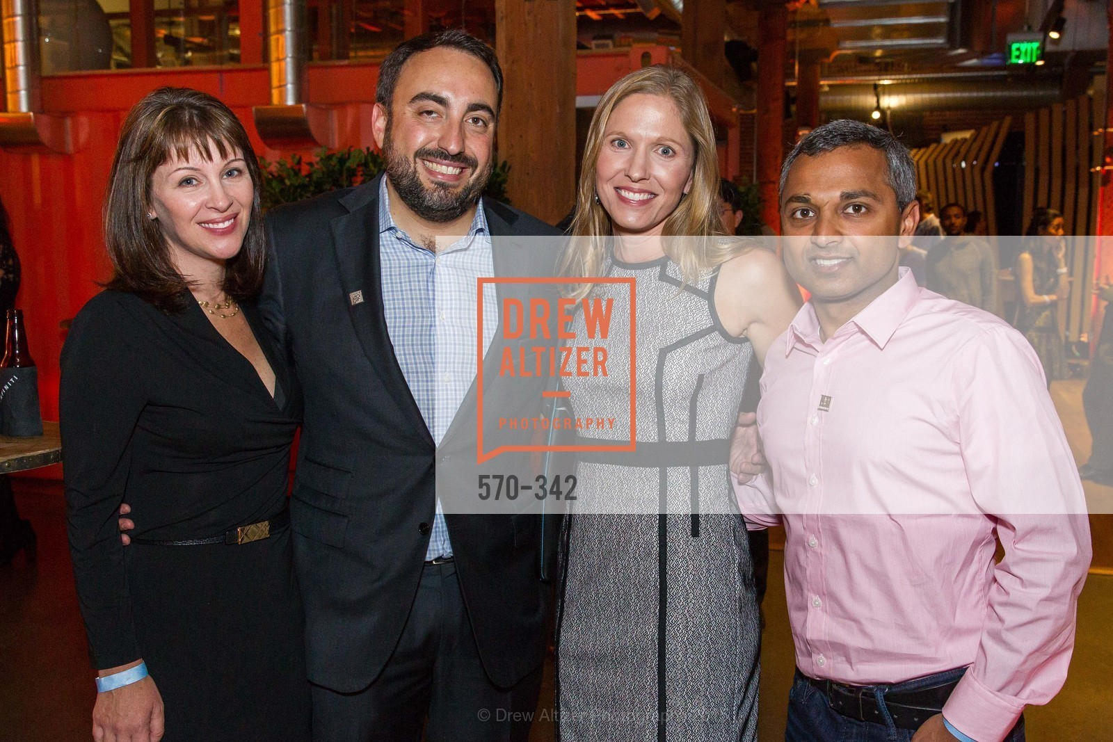 Katie Stamos, Alex Stamos, Laura Swaminathan, Anand Swaminathan, Fortune's 40 Under 40 Party, GitHub HQ. 88 Colin P Kelly Jr St, October 7th, 2015,Drew Altizer, Drew Altizer Photography, full-service agency, private events, San Francisco photographer, photographer california