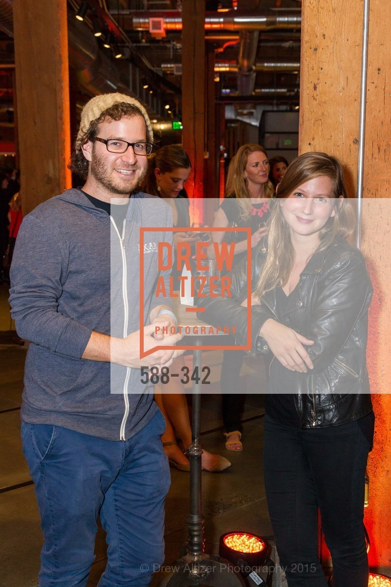 Kevin McFarland, Julia Greenberg, Fortune's 40 Under 40 Party, GitHub HQ. 88 Colin P Kelly Jr St, October 7th, 2015,Drew Altizer, Drew Altizer Photography, full-service agency, private events, San Francisco photographer, photographer california
