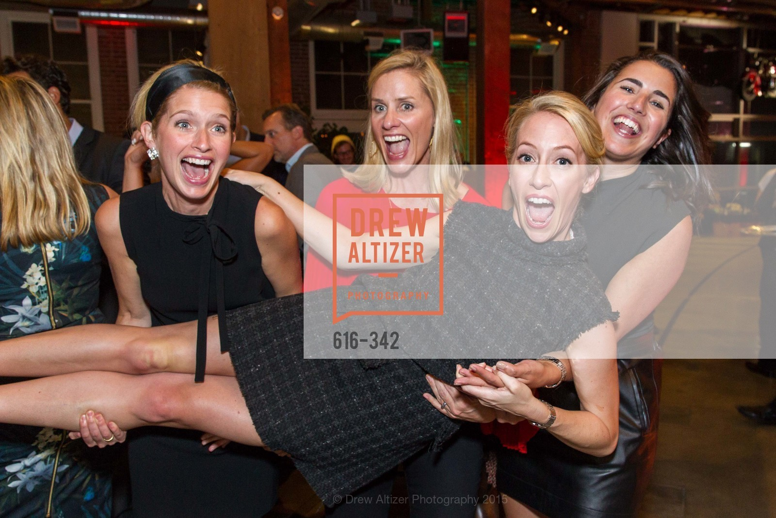 Molly Graves, Tara Carmichael, Julia Hartz, Kelsey Roeber, Fortune's 40 Under 40 Party, GitHub HQ. 88 Colin P Kelly Jr St, October 7th, 2015,Drew Altizer, Drew Altizer Photography, full-service agency, private events, San Francisco photographer, photographer california