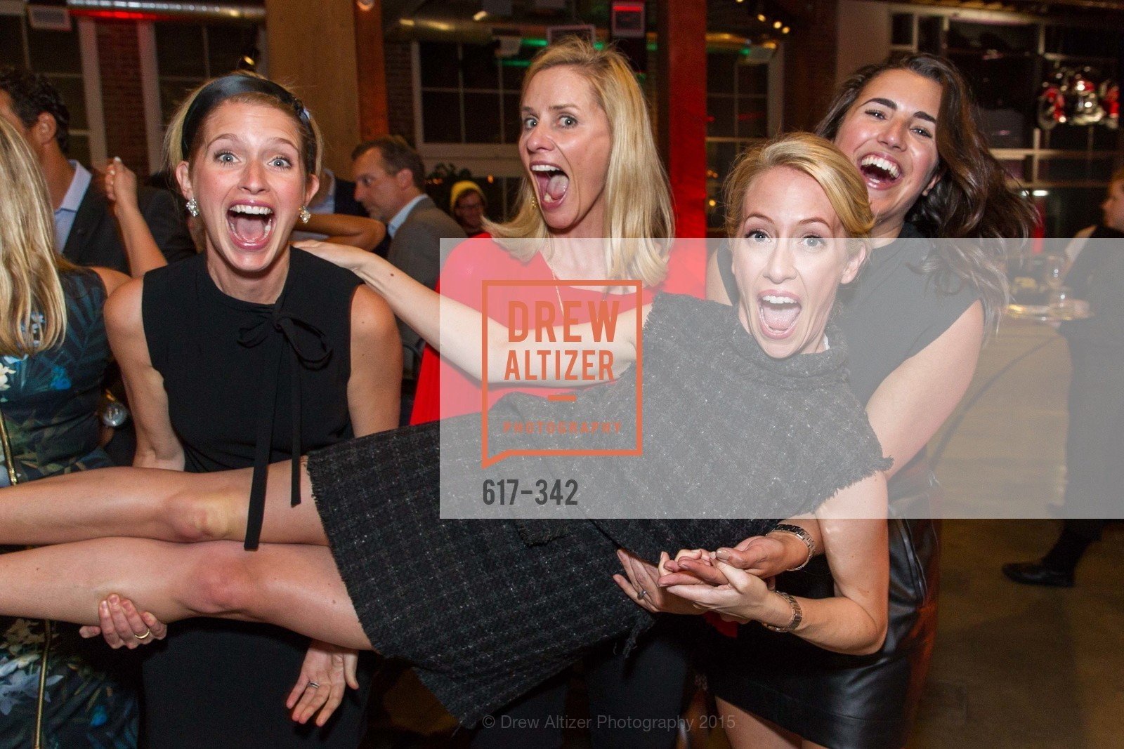 Molly Graves, Tara Carmichael, Julia Hartz, Kelsey Roeber, Fortune's 40 Under 40 Party, GitHub HQ. 88 Colin P Kelly Jr St, October 7th, 2015,Drew Altizer, Drew Altizer Photography, full-service event agency, private events, San Francisco photographer, photographer California