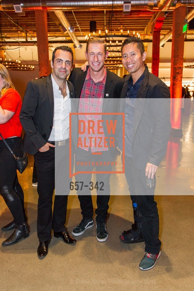 Hugo Barra, Ryan Graves, Peter Pham, Fortune's 40 Under 40 Party, GitHub HQ. 88 Colin P Kelly Jr St, October 7th, 2015,Drew Altizer, Drew Altizer Photography, full-service agency, private events, San Francisco photographer, photographer california