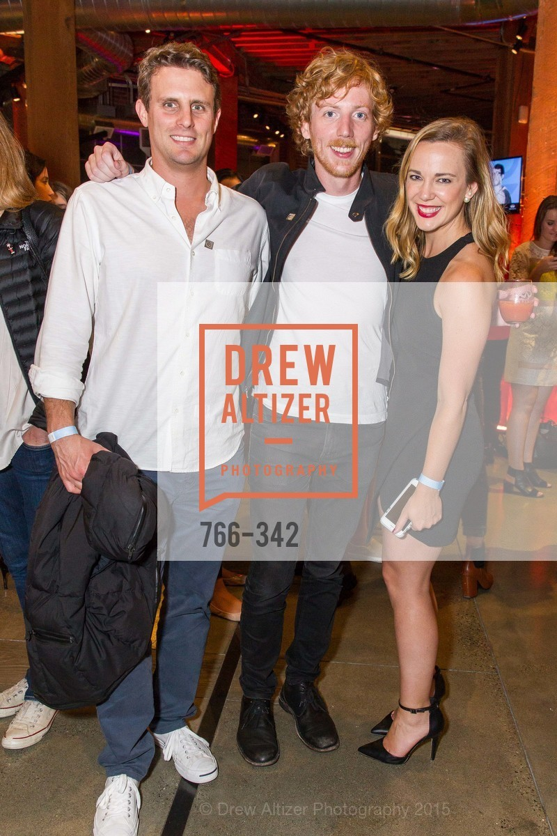 Michael Dubin, Chris Wanstrath, Mendy Slaton, Fortune's 40 Under 40 Party, GitHub HQ. 88 Colin P Kelly Jr St, October 7th, 2015,Drew Altizer, Drew Altizer Photography, full-service agency, private events, San Francisco photographer, photographer california
