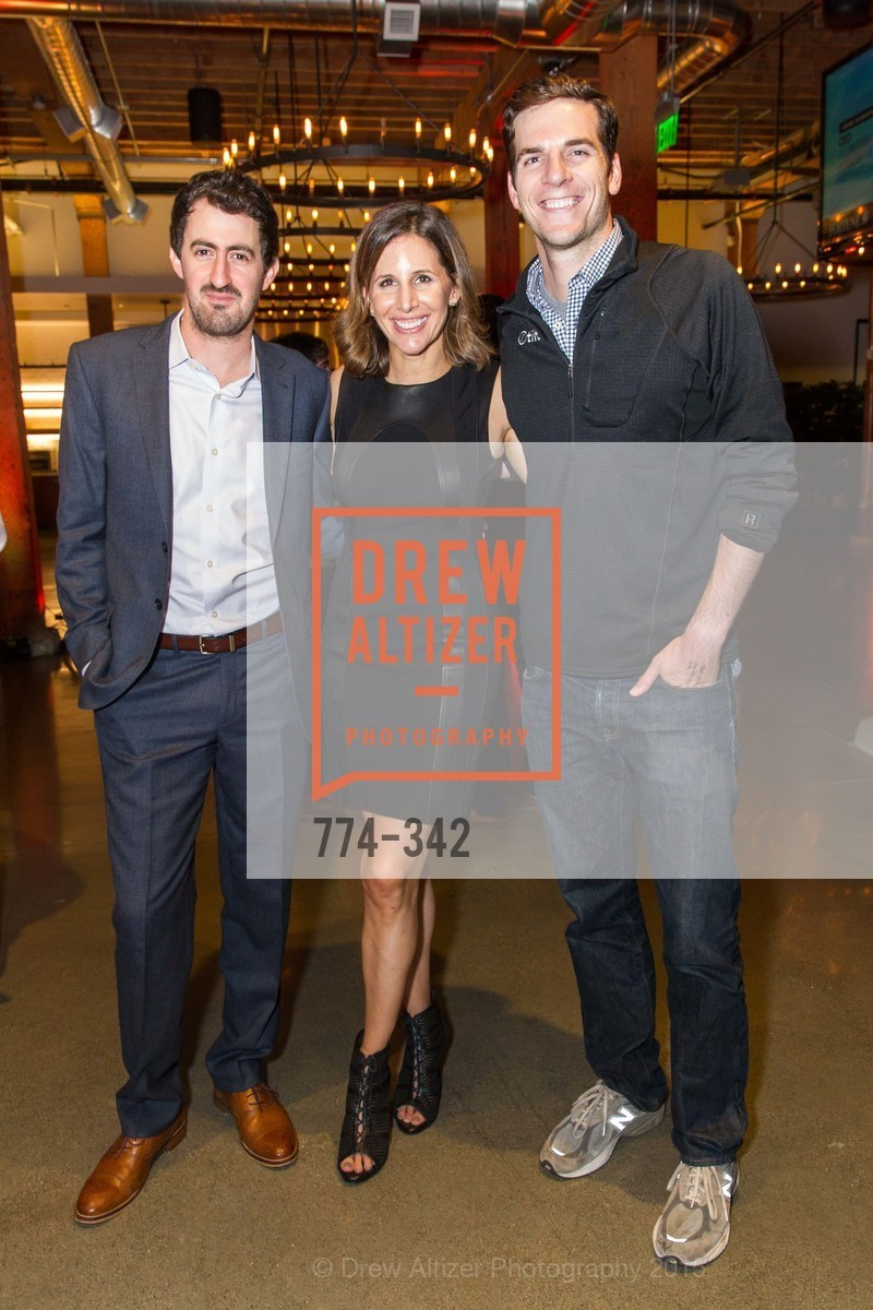 Daniel Roberts, Leigh Gallagher, James Bishop, Fortune's 40 Under 40 Party, GitHub HQ. 88 Colin P Kelly Jr St, October 7th, 2015,Drew Altizer, Drew Altizer Photography, full-service agency, private events, San Francisco photographer, photographer california