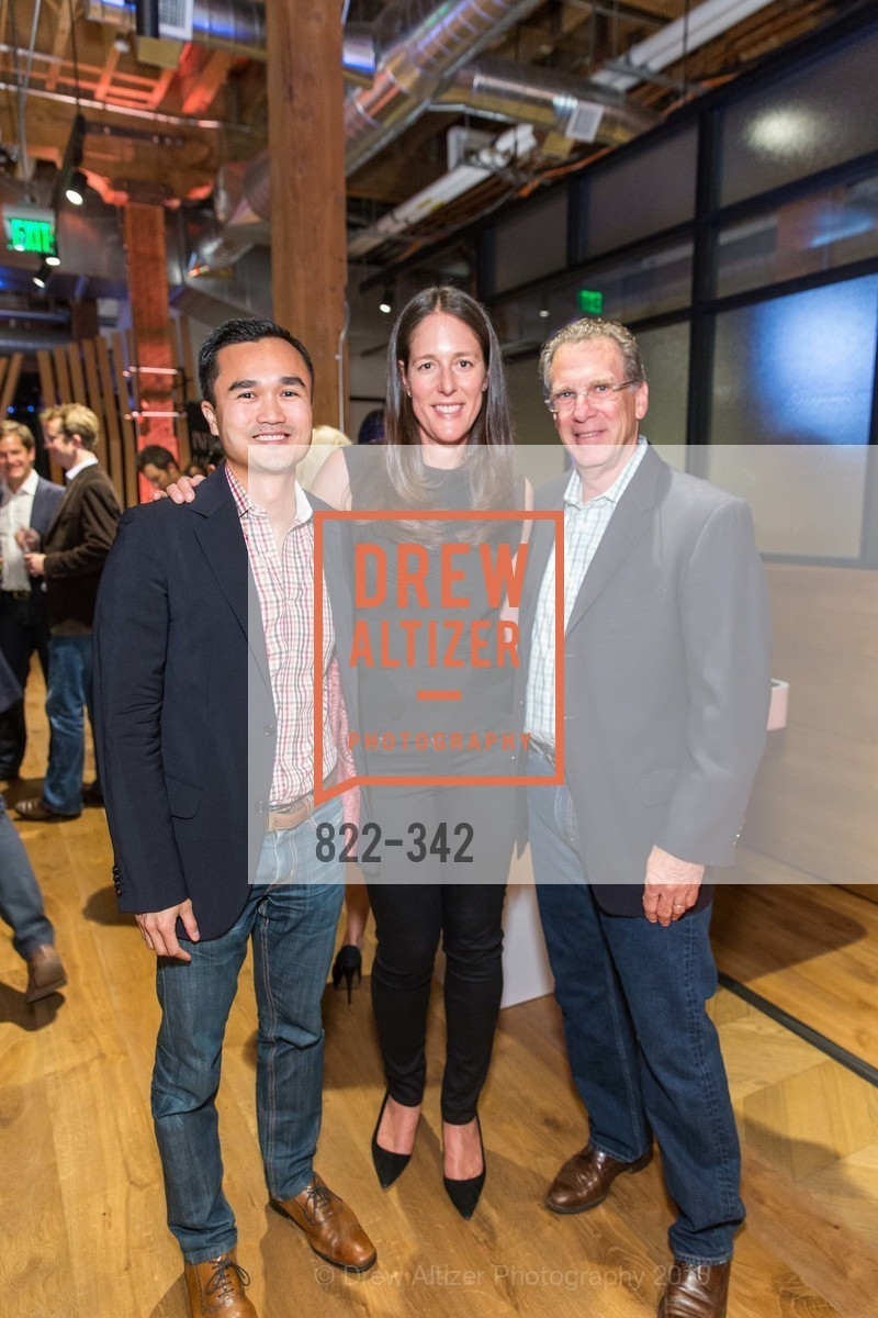 Ed Lin, Lisa Tarter, Greg Spector, Fortune's 40 Under 40 Party, GitHub HQ. 88 Colin P Kelly Jr St, October 7th, 2015,Drew Altizer, Drew Altizer Photography, full-service agency, private events, San Francisco photographer, photographer california
