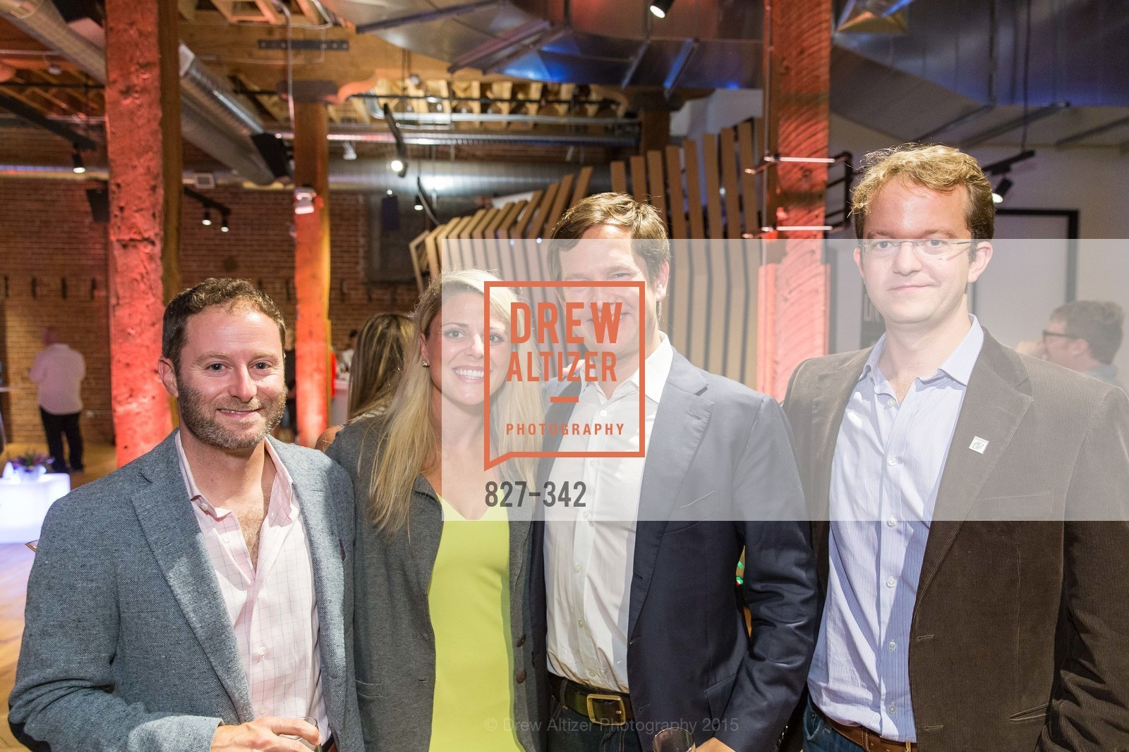 Scott Jacobs, Heather Pastorius, John Ackerly, Will Ackerly, Fortune's 40 Under 40 Party, GitHub HQ. 88 Colin P Kelly Jr St, October 7th, 2015,Drew Altizer, Drew Altizer Photography, full-service agency, private events, San Francisco photographer, photographer california