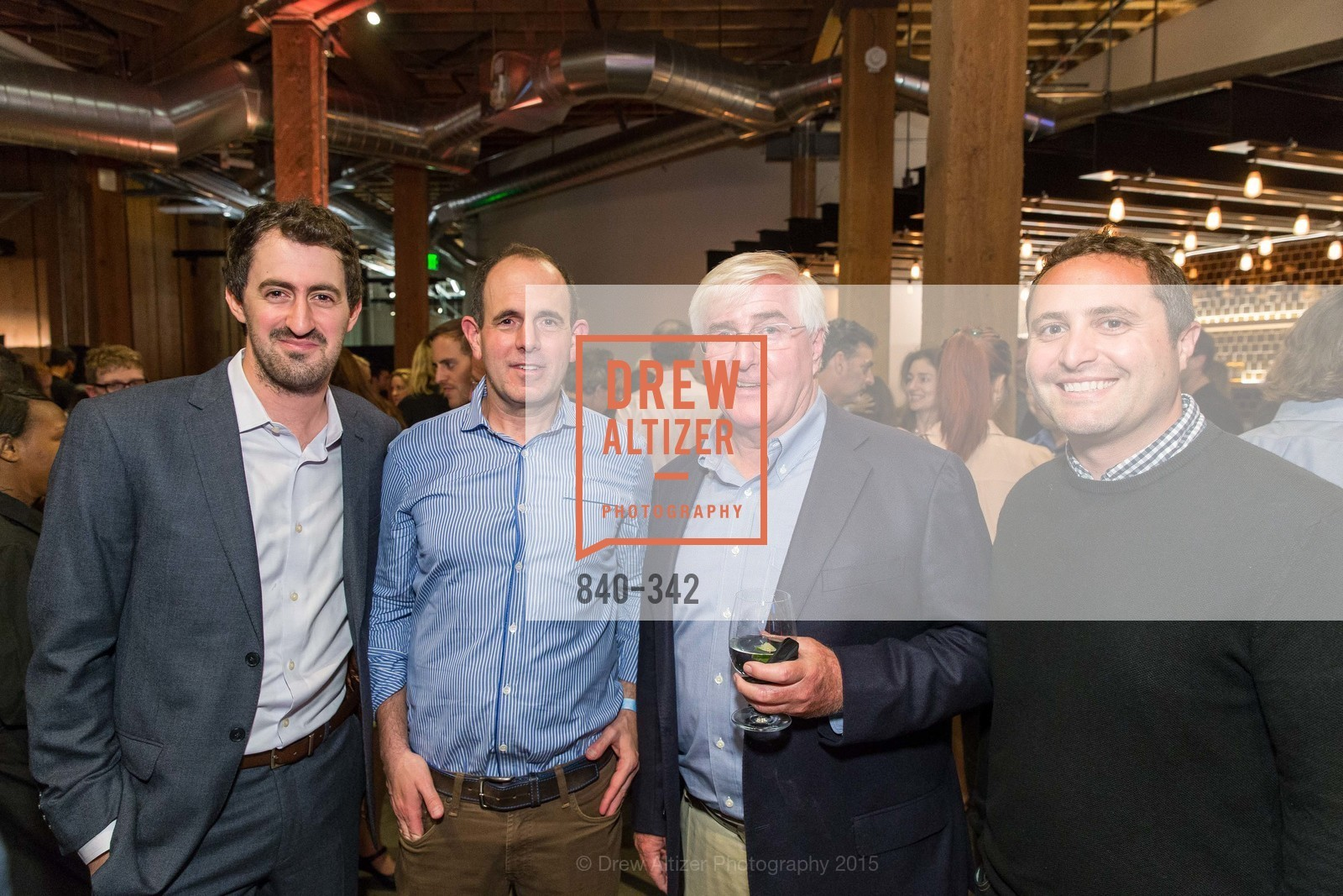 Daniel Roberts, Ron Conway, Topher Conway, Fortune's 40 Under 40 Party, GitHub HQ. 88 Colin P Kelly Jr St, October 7th, 2015,Drew Altizer, Drew Altizer Photography, full-service agency, private events, San Francisco photographer, photographer california