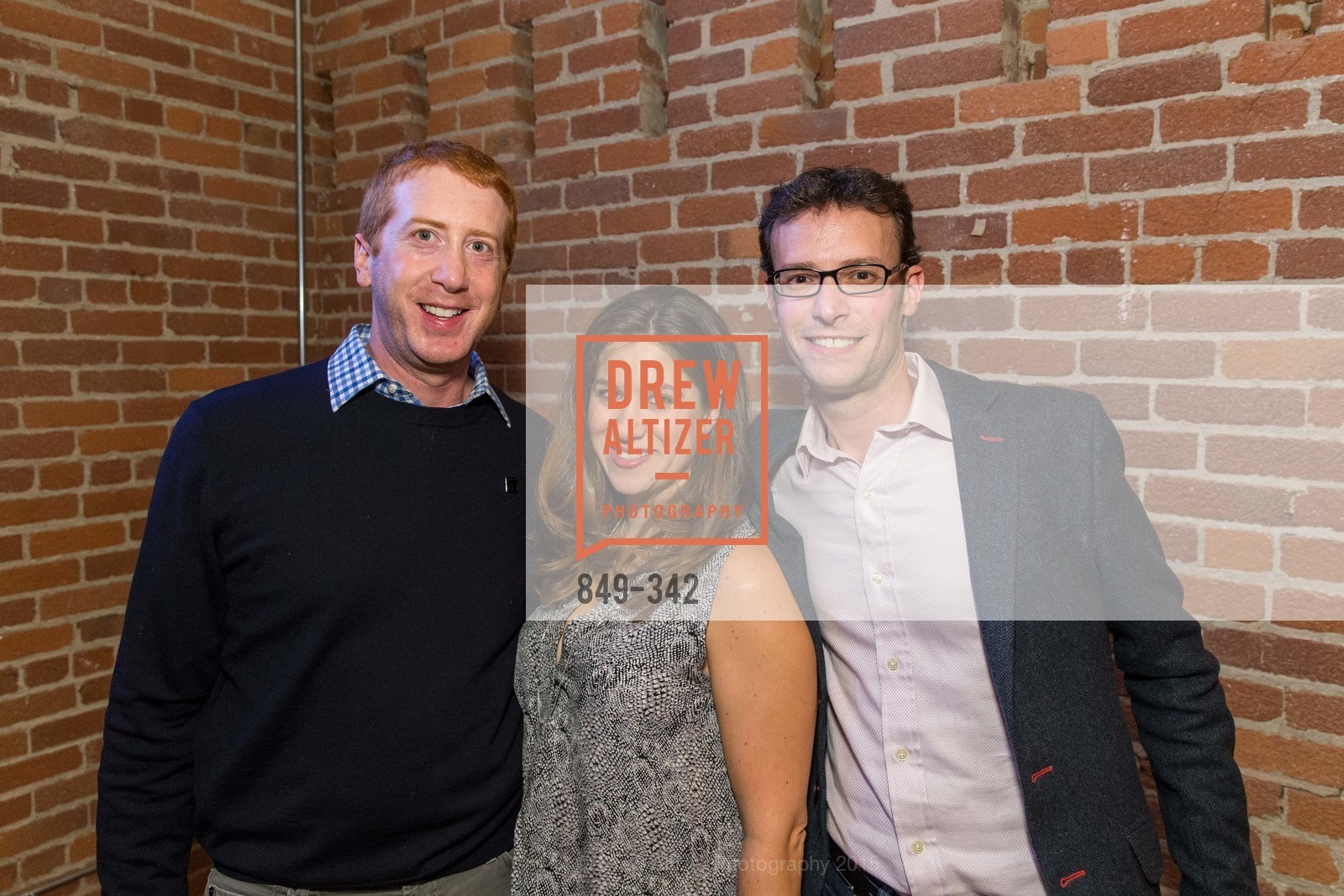 Chuck Myers, Jessica Myers, Eric Stone, Fortune's 40 Under 40 Party, GitHub HQ. 88 Colin P Kelly Jr St, October 7th, 2015,Drew Altizer, Drew Altizer Photography, full-service agency, private events, San Francisco photographer, photographer california