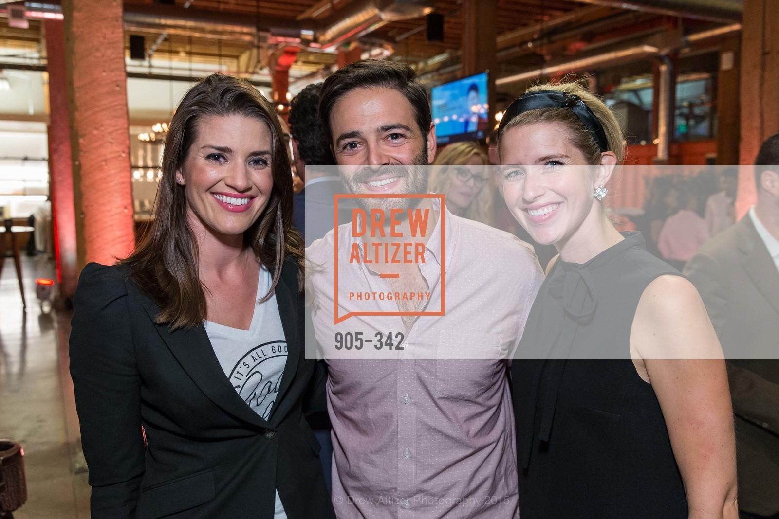 Meredith Kendall, Noah Lichtenstein, Molly Graves, Fortune's 40 Under 40 Party, GitHub HQ. 88 Colin P Kelly Jr St, October 7th, 2015,Drew Altizer, Drew Altizer Photography, full-service agency, private events, San Francisco photographer, photographer california