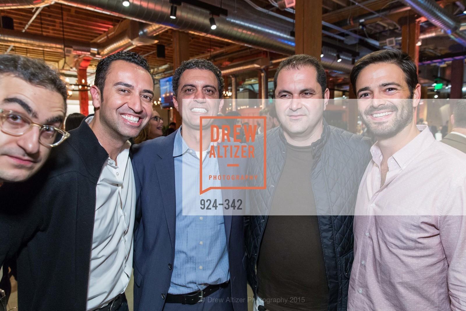 Fareed Adib, Emil Michael, Shervin Pishevar, Noah Lichtenstein, Photo #924-342