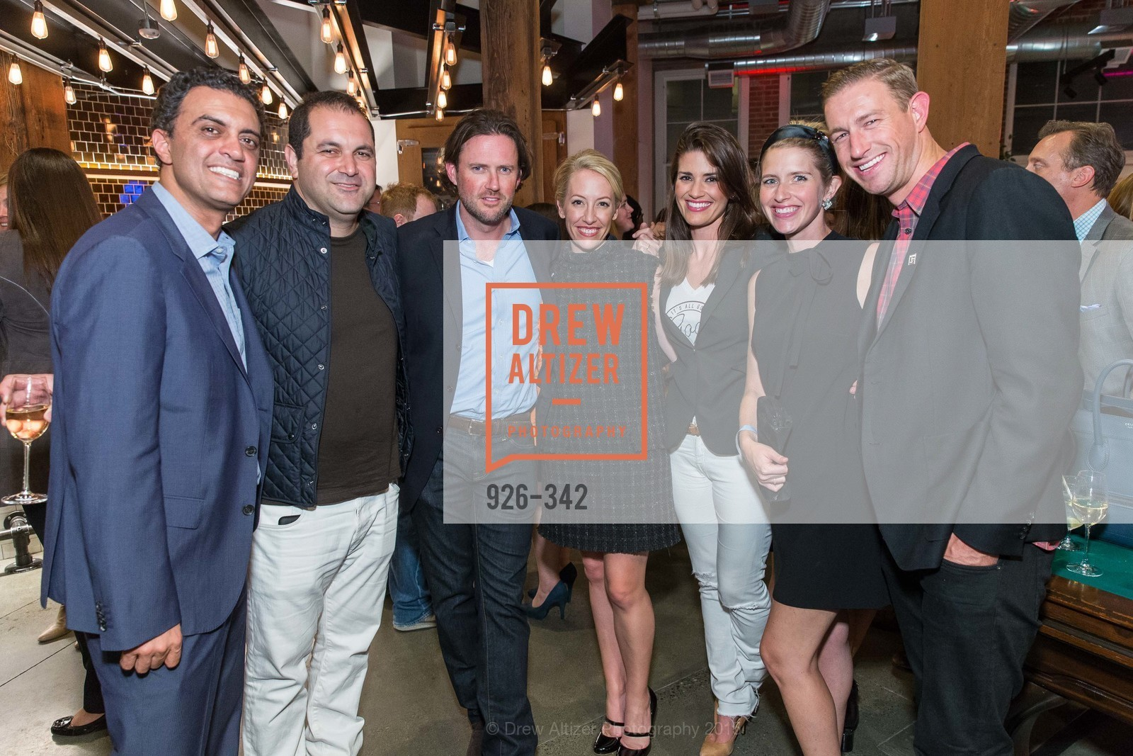 Emil Michael, Shervin Pishevar, Scott Stanford, Julia Hartz, Ryan Graves, Molly Graves, Fortune's 40 Under 40 Party, GitHub HQ. 88 Colin P Kelly Jr St, October 7th, 2015,Drew Altizer, Drew Altizer Photography, full-service agency, private events, San Francisco photographer, photographer california