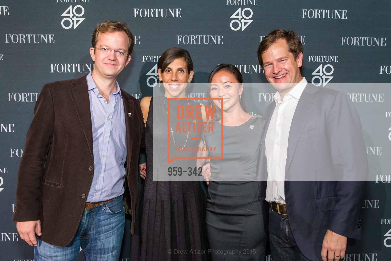 Will Ackerly, Melanie Whelan, Karen Fang, John Ackerly, Fortune's 40 Under 40 Party, GitHub HQ. 88 Colin P Kelly Jr St, October 7th, 2015,Drew Altizer, Drew Altizer Photography, full-service agency, private events, San Francisco photographer, photographer california