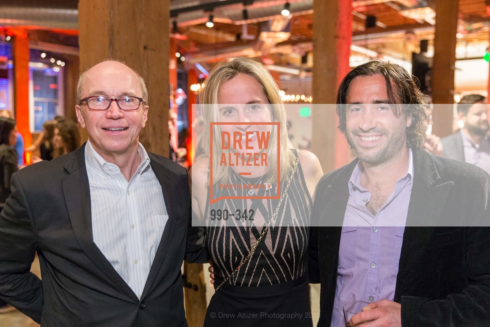 Alan Murray, Lisa Falzone, Chris Ciabarra, Fortune's 40 Under 40 Party, GitHub HQ. 88 Colin P Kelly Jr St, October 7th, 2015,Drew Altizer, Drew Altizer Photography, full-service agency, private events, San Francisco photographer, photographer california