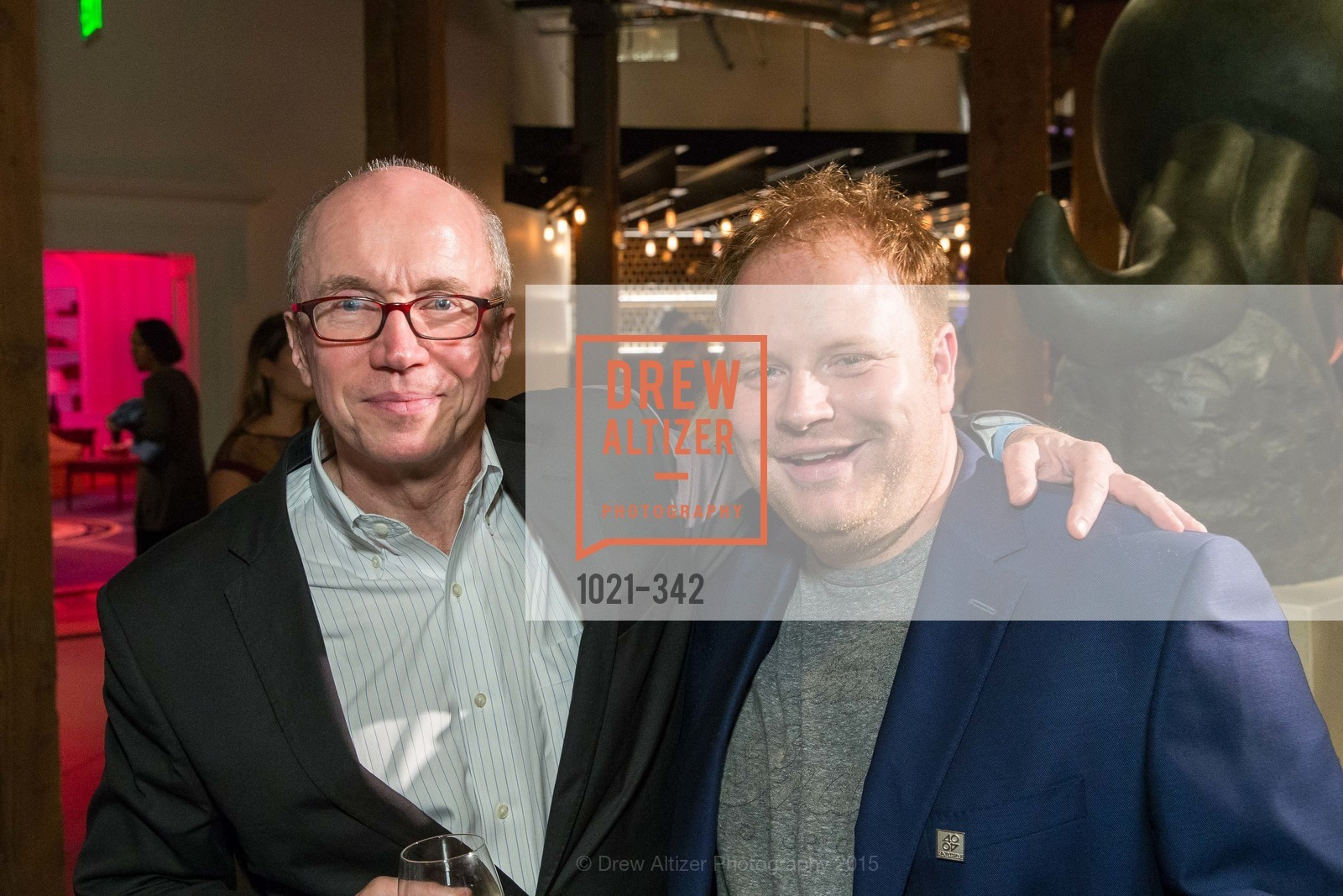 Alan Murray, Parker Conrad, Fortune's 40 Under 40 Party, GitHub HQ. 88 Colin P Kelly Jr St, October 7th, 2015,Drew Altizer, Drew Altizer Photography, full-service event agency, private events, San Francisco photographer, photographer California