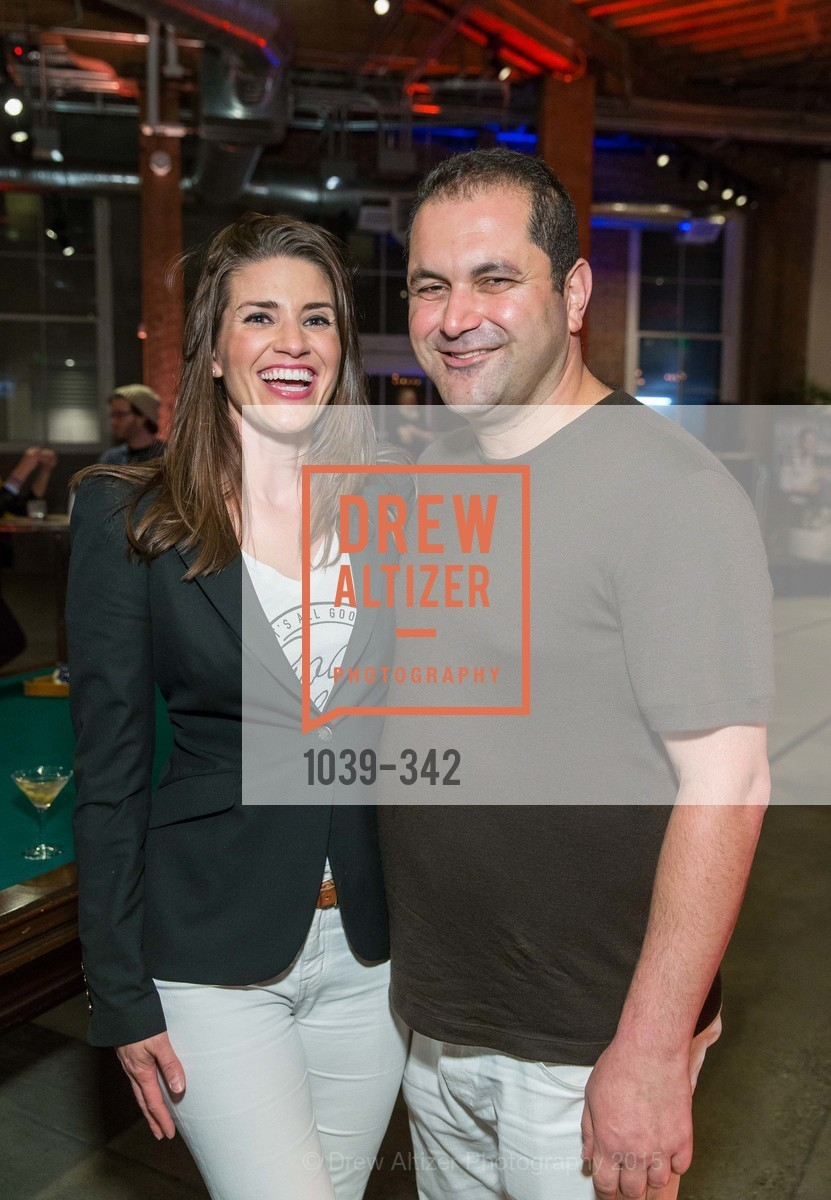 Meredith Kendall, Shervin Pishevar, Fortune's 40 Under 40 Party, GitHub HQ. 88 Colin P Kelly Jr St, October 7th, 2015,Drew Altizer, Drew Altizer Photography, full-service agency, private events, San Francisco photographer, photographer california