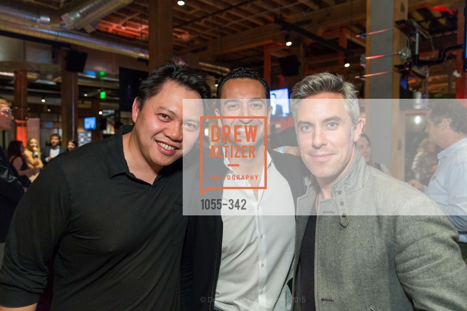 Fareed Adib, Robin Chan, Eoin Harrington, Fortune's 40 Under 40 Party, GitHub HQ. 88 Colin P Kelly Jr St, October 7th, 2015,Drew Altizer, Drew Altizer Photography, full-service agency, private events, San Francisco photographer, photographer california