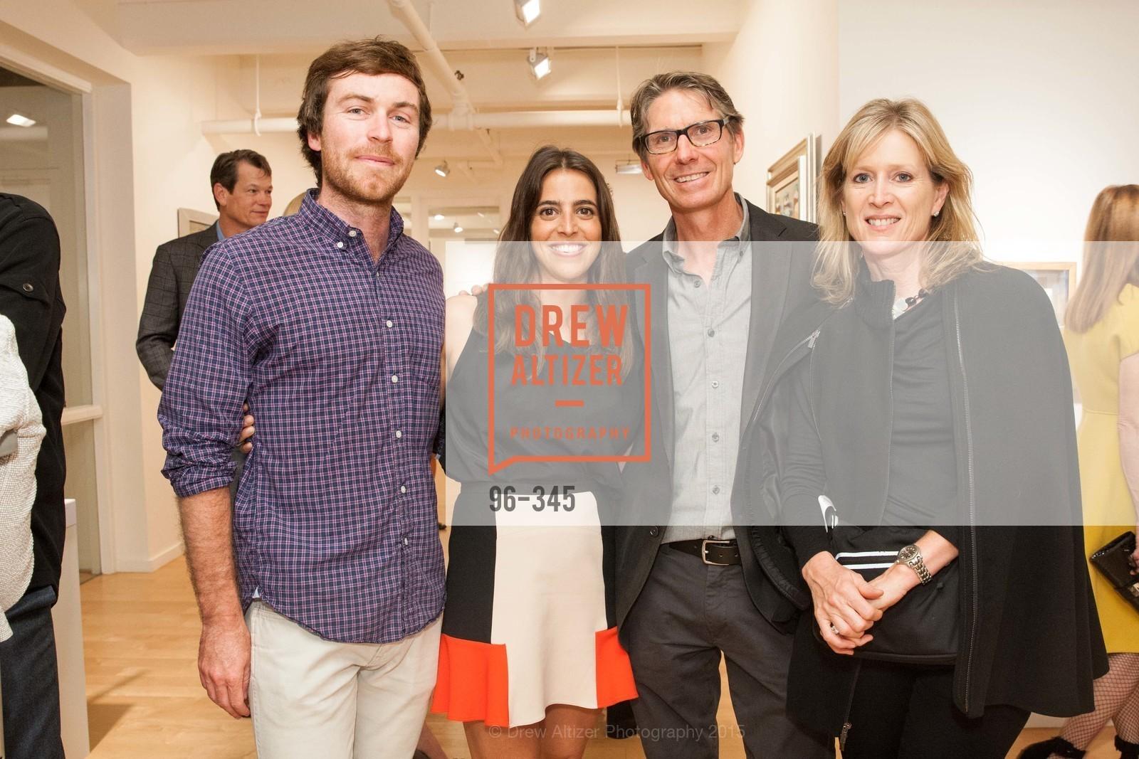 Nick Runkle, Eugenia Ballve, Peter Hassan, Louise Hassen, John Berggruen Gallery presents
