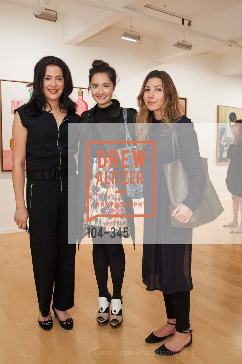 Becky Ascher, Julia Gauger, Angelina Turrini, John Berggruen Gallery presents