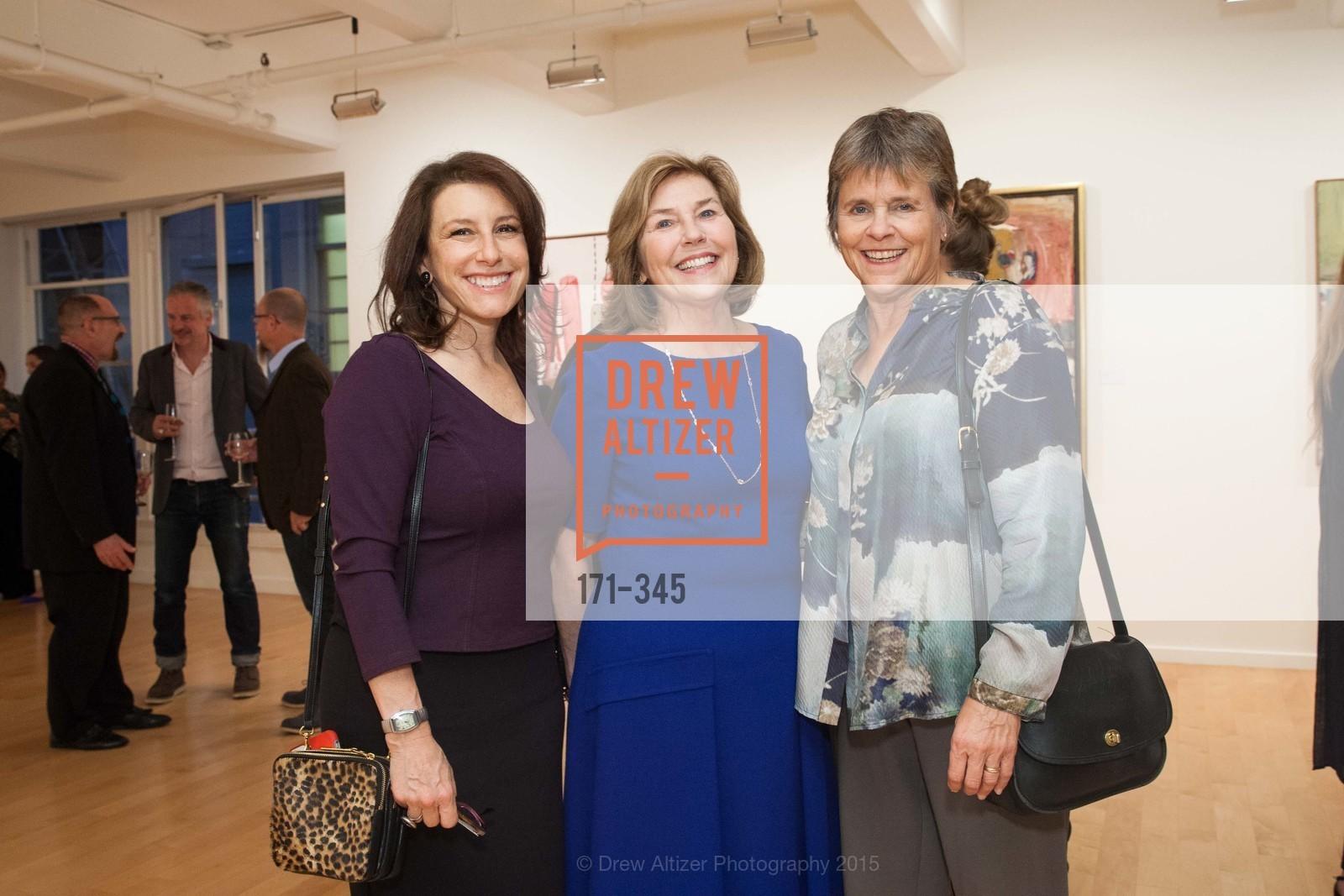 Jeremy Stone, Gretchen Berggruen, Judy Luce, John Berggruen Gallery presents