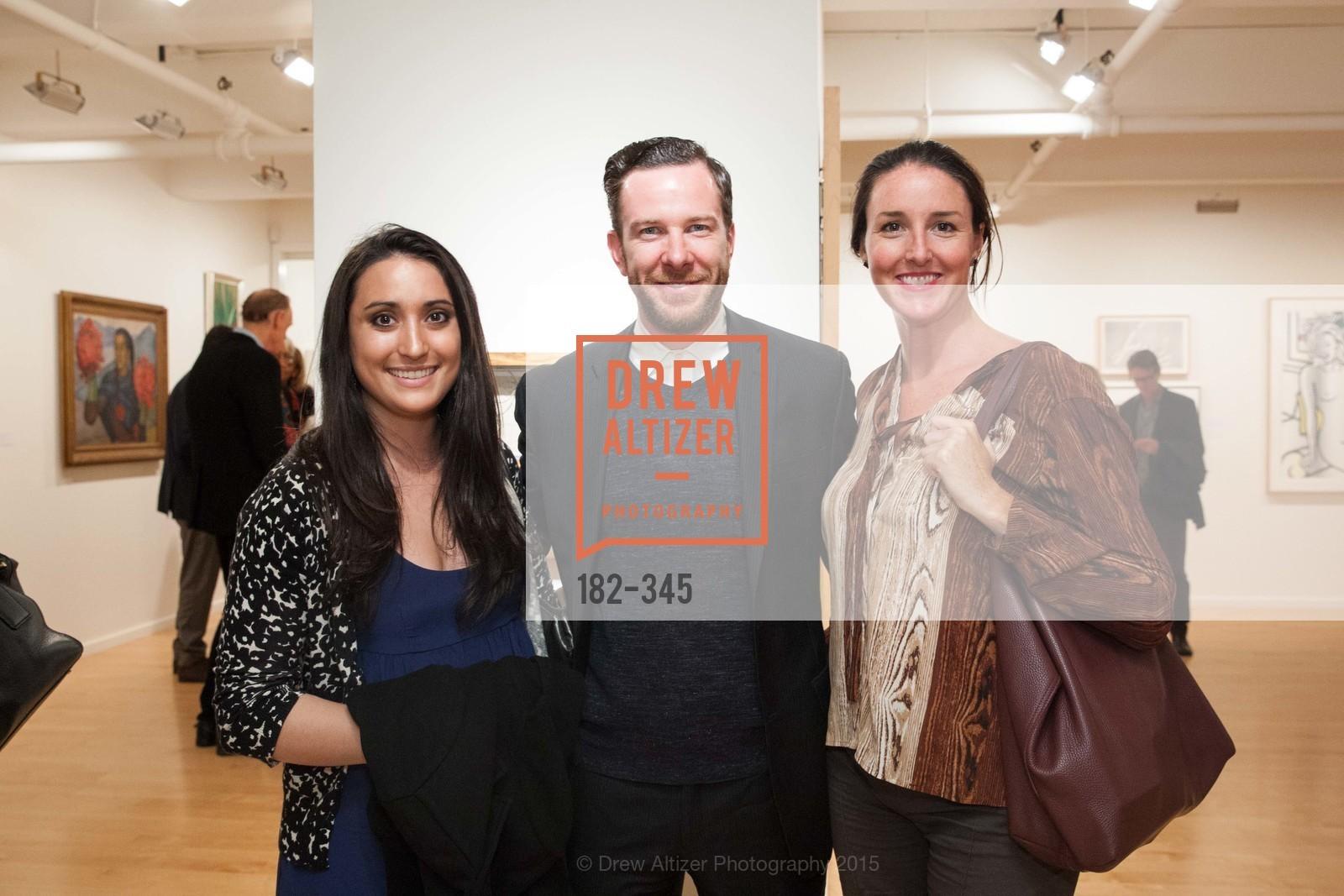 Michaela Khalfayan, Dane Jensen, Sarah Nelson, John Berggruen Gallery presents