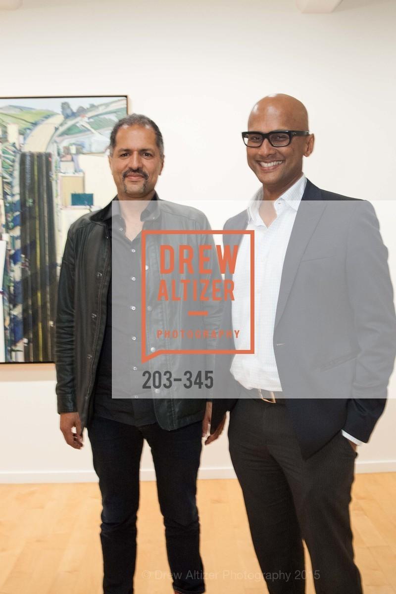 Nabiel Musleh, Anjan Mitra, John Berggruen Gallery presents