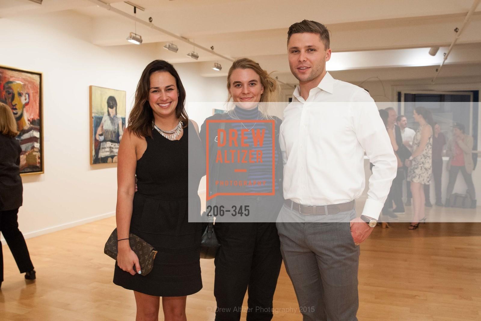 Farren McGaffigan, Julia Birka-White, Andrew Cereghino, John Berggruen Gallery presents