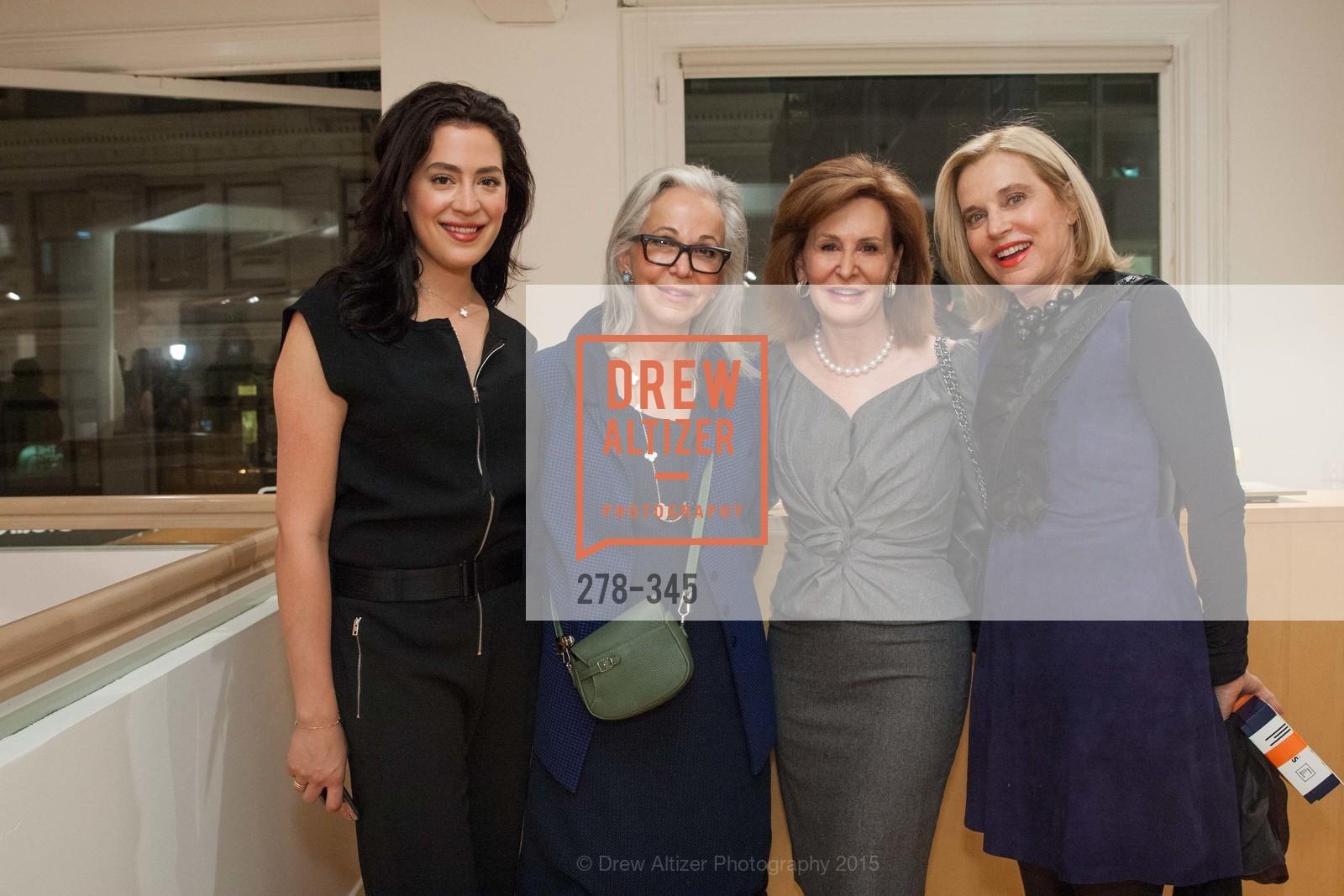 Becky Ascher, Nancy Ascher, Diane Morris, Karen Diefenbach, John Berggruen Gallery presents