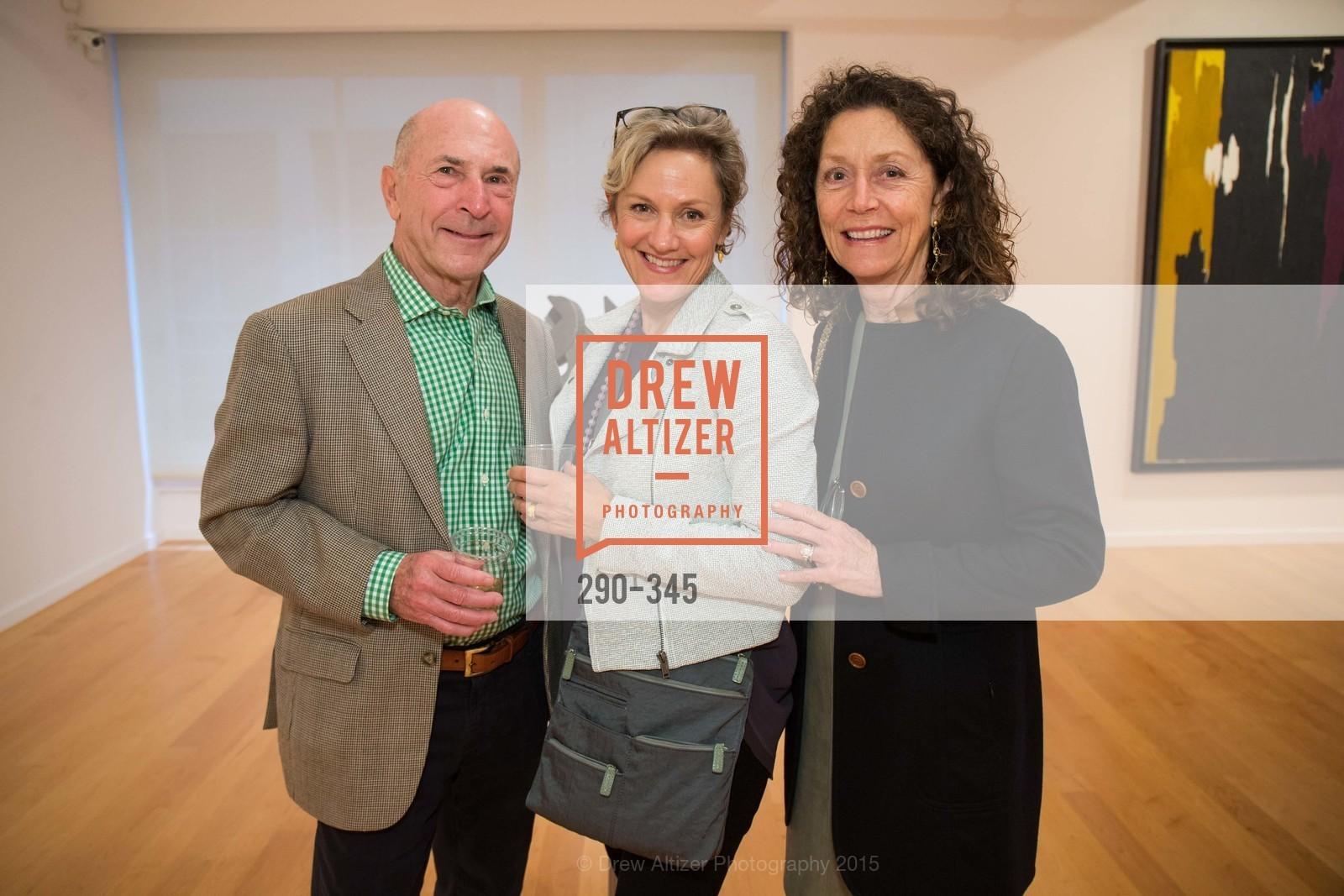 Paul Hazen, Jody Knowlton, Cassandra Hazen, John Berggruen Gallery presents