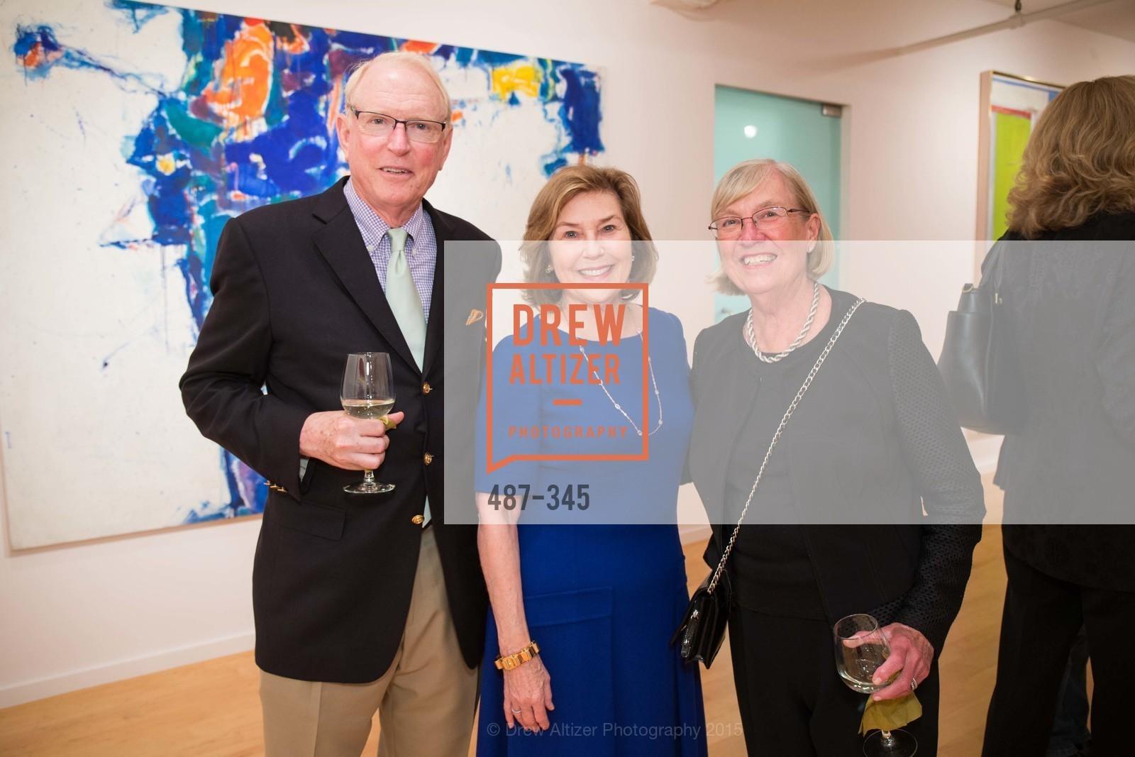 David Chamberlain, Gretchen Berggruen, Carol Chamberlain, John Berggruen Gallery presents