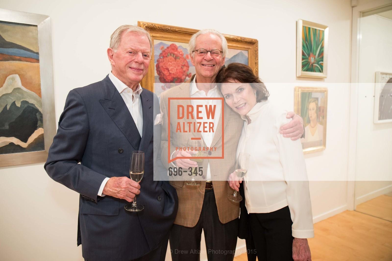 Sandy Walker, Steve Merrill, Kay Walker, John Berggruen Gallery presents