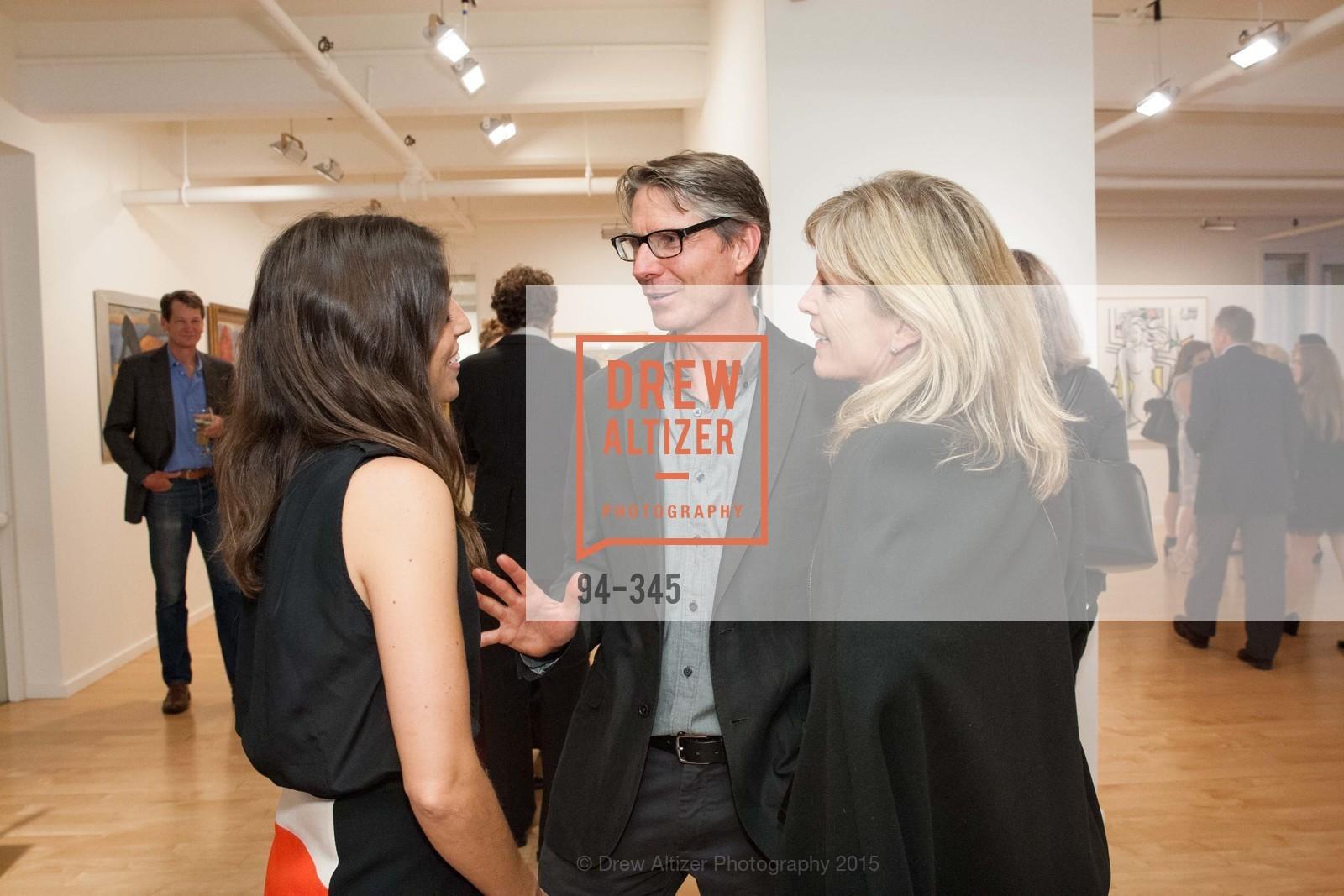 Eugenia Ballve, Peter Hassan, Louise Hassen, John Berggruen Gallery presents
