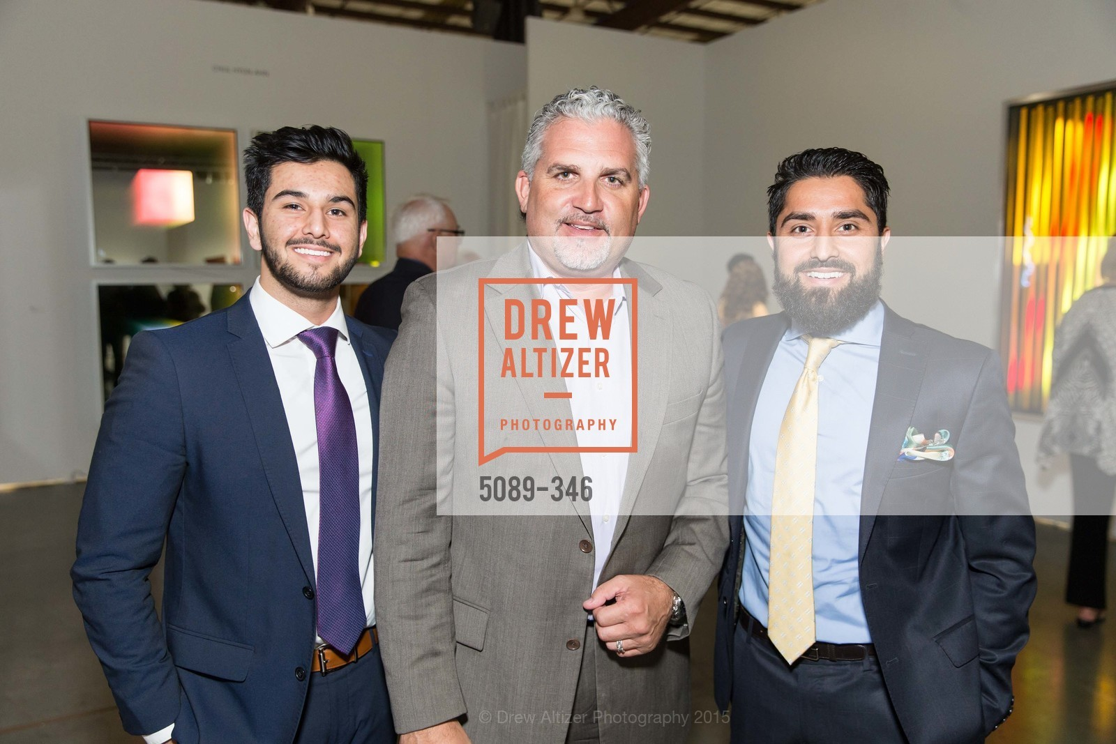 Obeid Habibi, Nick Korniloff, Roh Habibi, Art Miami Presents: Art Silicon Valley, San Mateo County Event Center. 1346 Saratoga Dr, October 8th, 2015,Drew Altizer, Drew Altizer Photography, full-service agency, private events, San Francisco photographer, photographer california
