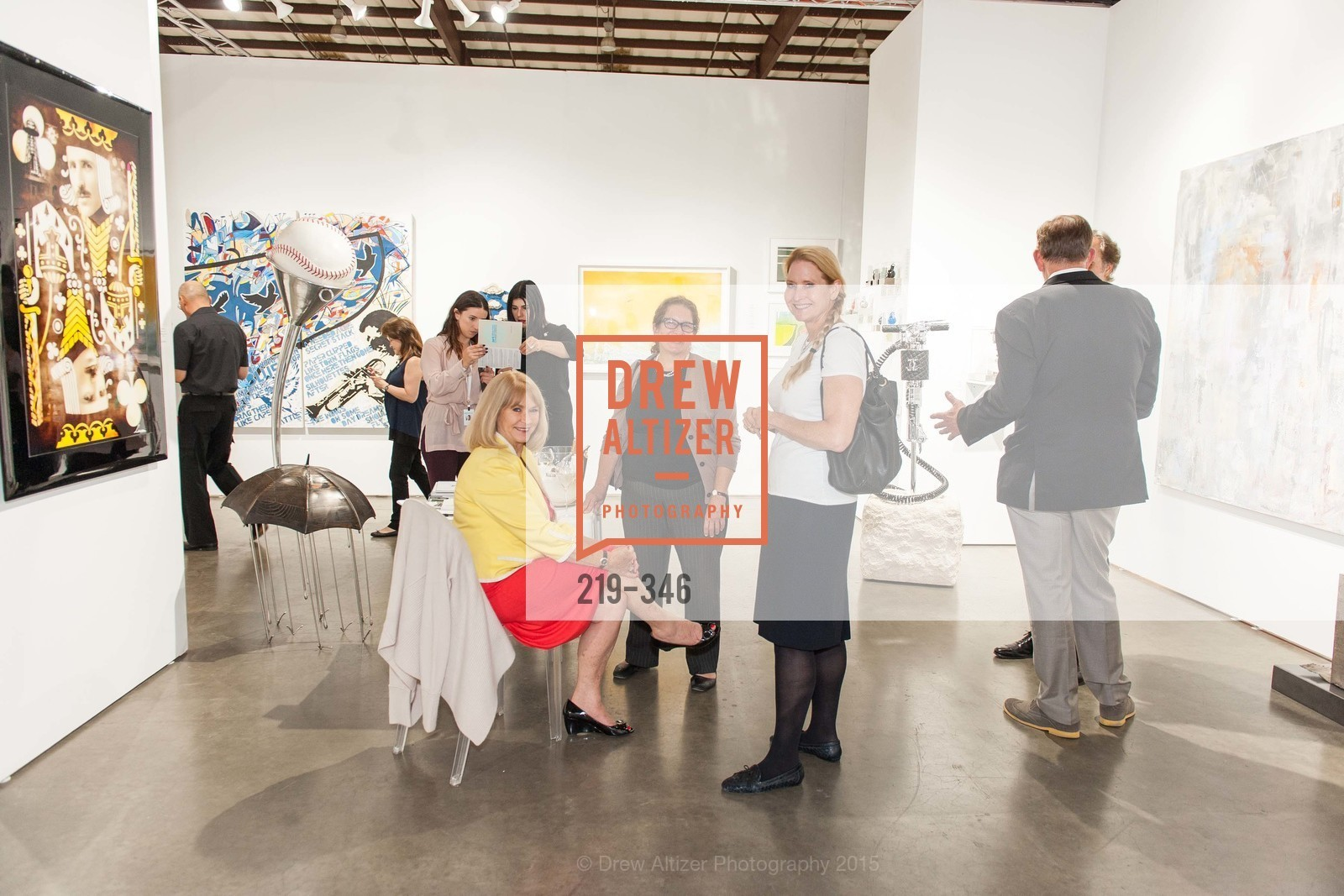 Nola Masterson, Meredith Warshaw, Laura Raynak, Art Miami Presents: Art Silicon Valley, San Mateo County Event Center. 1346 Saratoga Dr, October 8th, 2015,Drew Altizer, Drew Altizer Photography, full-service agency, private events, San Francisco photographer, photographer california