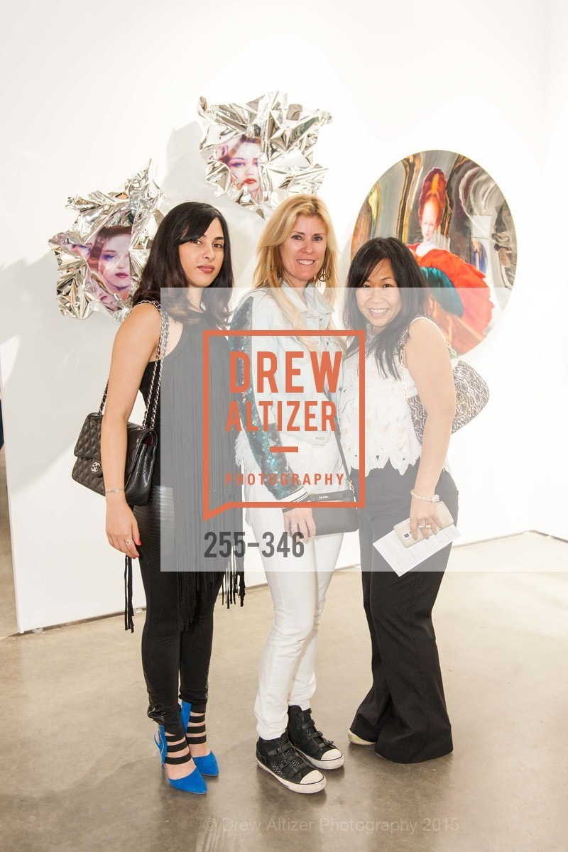 Mandana Tehrani, Sherry Hope Kennedy, Fabi Pie, Art Miami Presents: Art Silicon Valley, San Mateo County Event Center. 1346 Saratoga Dr, October 8th, 2015,Drew Altizer, Drew Altizer Photography, full-service agency, private events, San Francisco photographer, photographer california