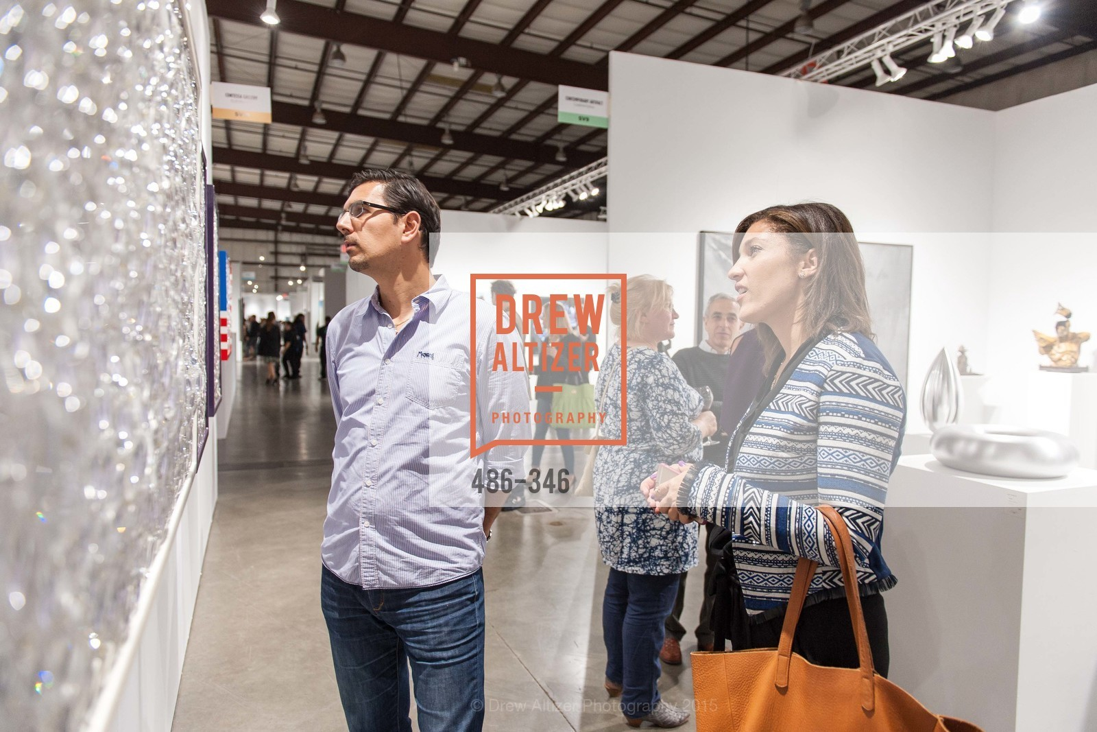 George Oprean, Jaimie Belew, Art Miami Presents: Art Silicon Valley, San Mateo County Event Center. 1346 Saratoga Dr, October 8th, 2015,Drew Altizer, Drew Altizer Photography, full-service agency, private events, San Francisco photographer, photographer california