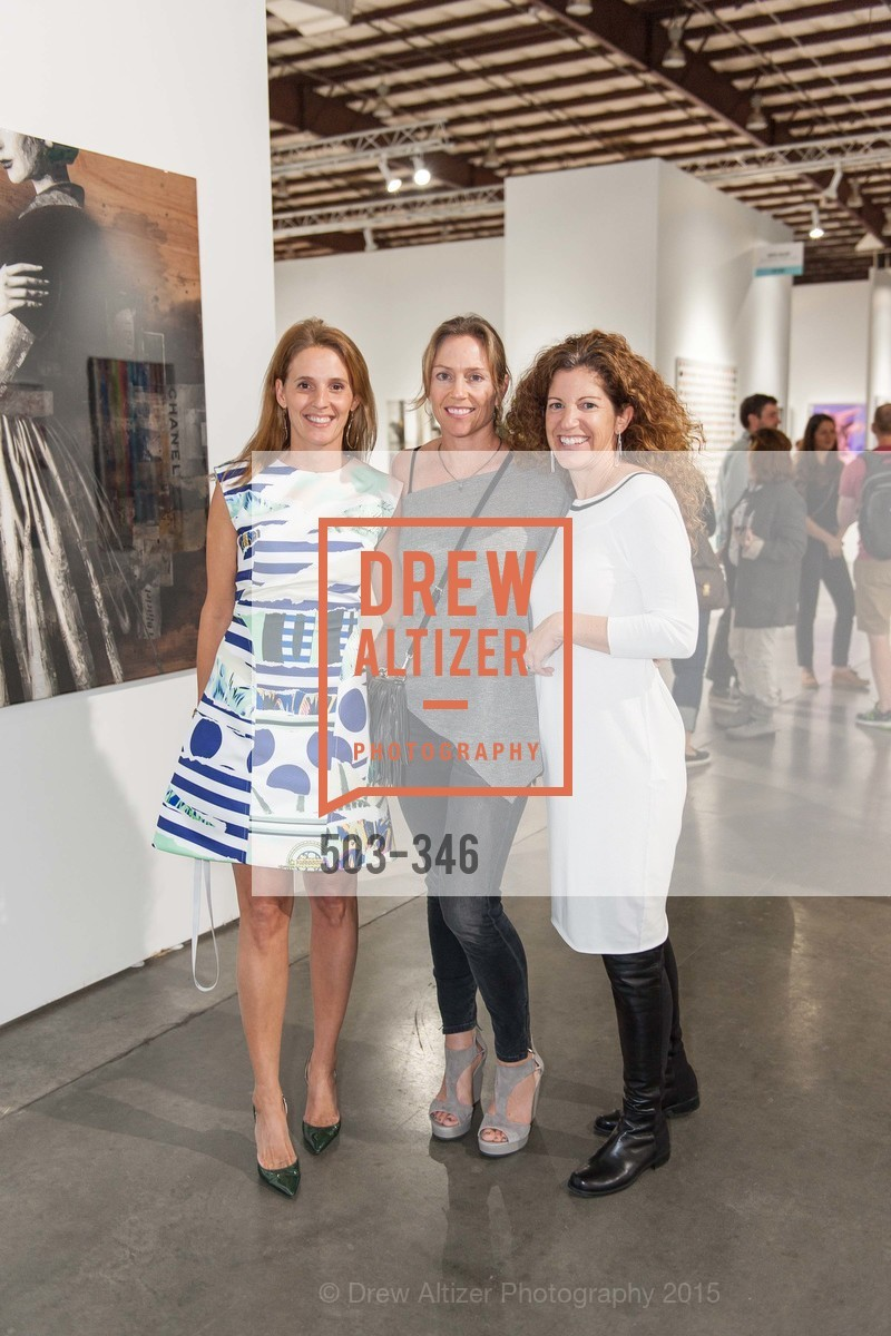 Evie Simon, Megan Clark, Tracy Roeder, Art Miami Presents: Art Silicon Valley, San Mateo County Event Center. 1346 Saratoga Dr, October 8th, 2015,Drew Altizer, Drew Altizer Photography, full-service agency, private events, San Francisco photographer, photographer california
