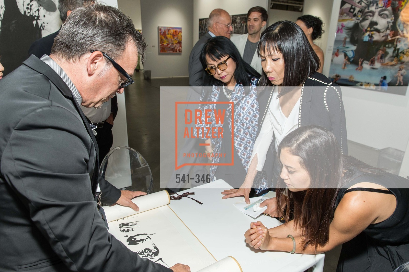Suno Kay Osterweis, Lucy Sun, Karin Oen, Art Miami Presents: Art Silicon Valley, San Mateo County Event Center. 1346 Saratoga Dr, October 8th, 2015,Drew Altizer, Drew Altizer Photography, full-service agency, private events, San Francisco photographer, photographer california
