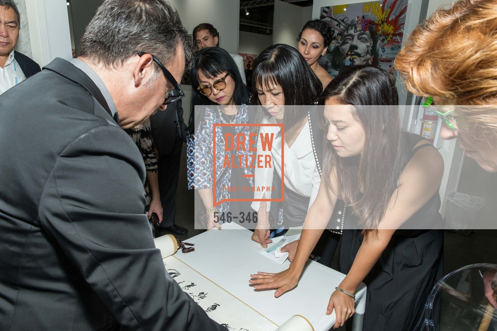 Suno Kay Osterweis, Lucy Sun, Karin Oen, Art Miami Presents: Art Silicon Valley, San Mateo County Event Center. 1346 Saratoga Dr, October 8th, 2015,Drew Altizer, Drew Altizer Photography, full-service event agency, private events, San Francisco photographer, photographer California