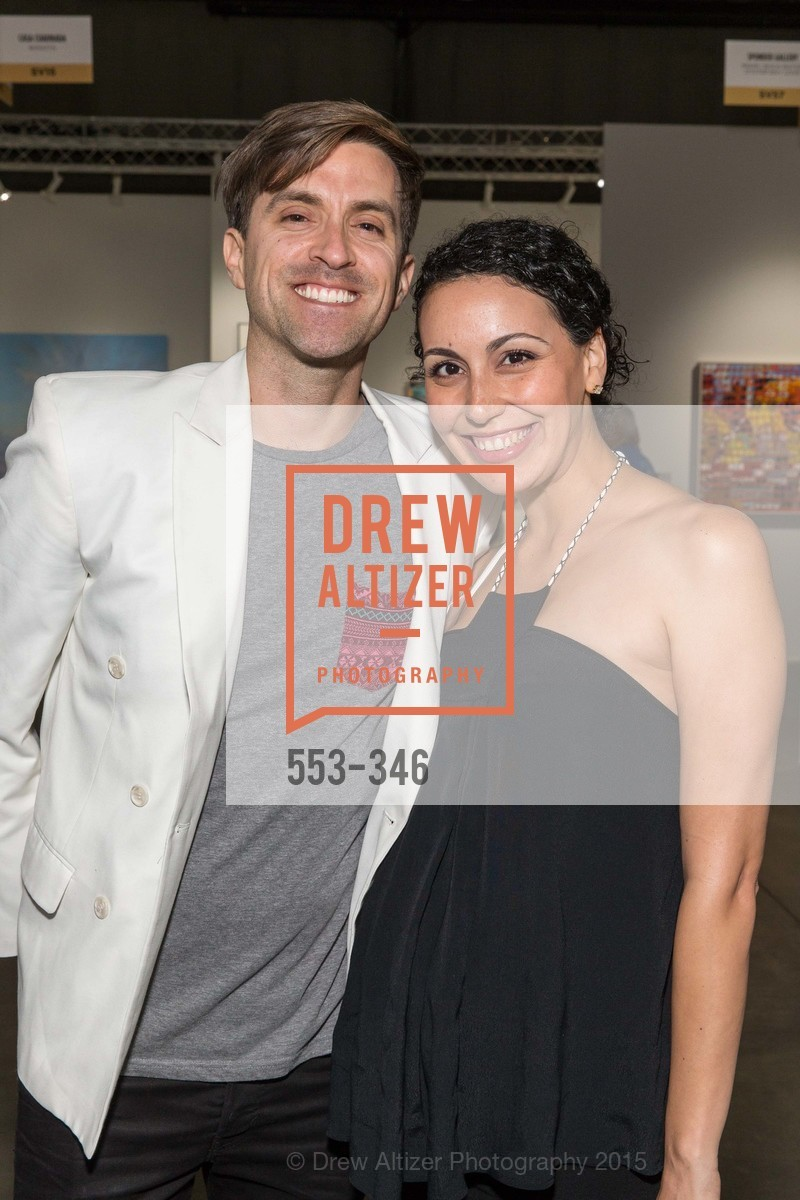 Justin Portillo, Meika Portillo, Art Miami Presents: Art Silicon Valley, San Mateo County Event Center. 1346 Saratoga Dr, October 8th, 2015,Drew Altizer, Drew Altizer Photography, full-service agency, private events, San Francisco photographer, photographer california